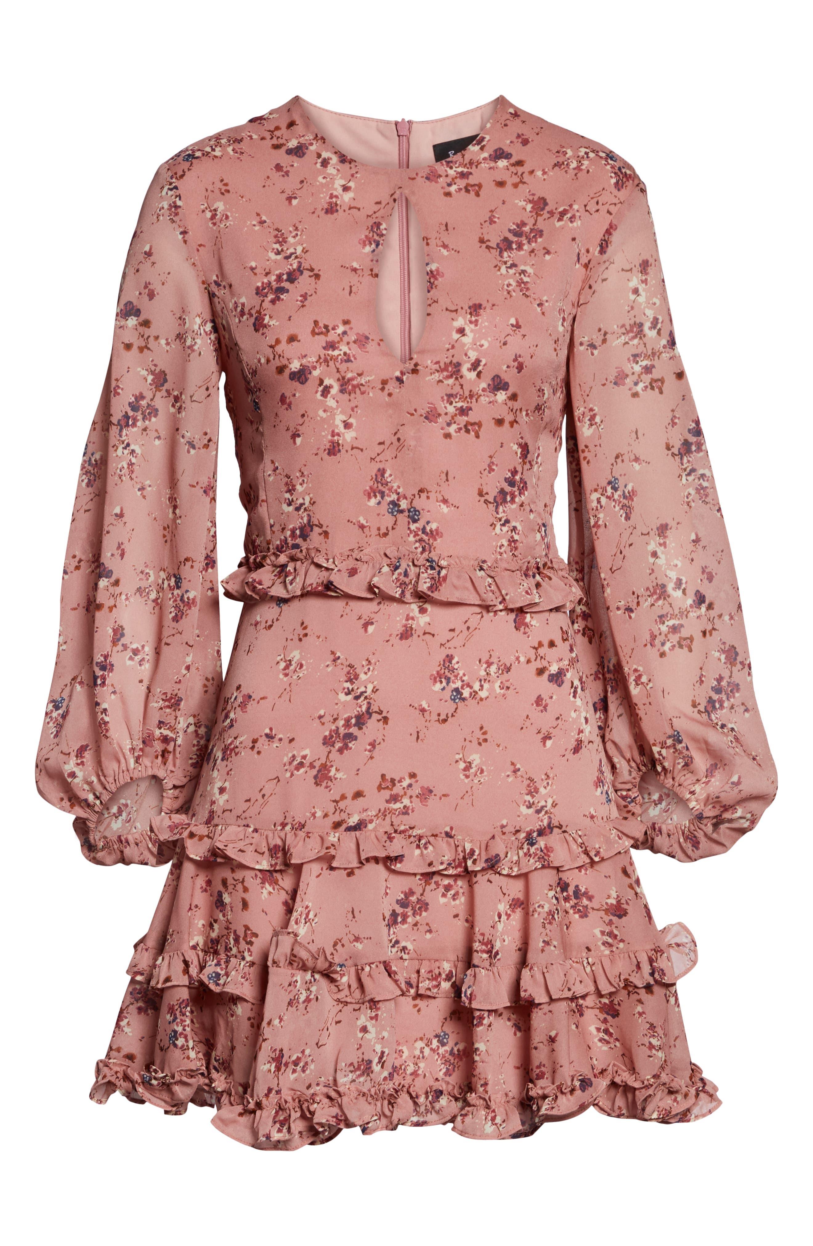 Frill Dress,                             Alternate thumbnail 4, color,                             950