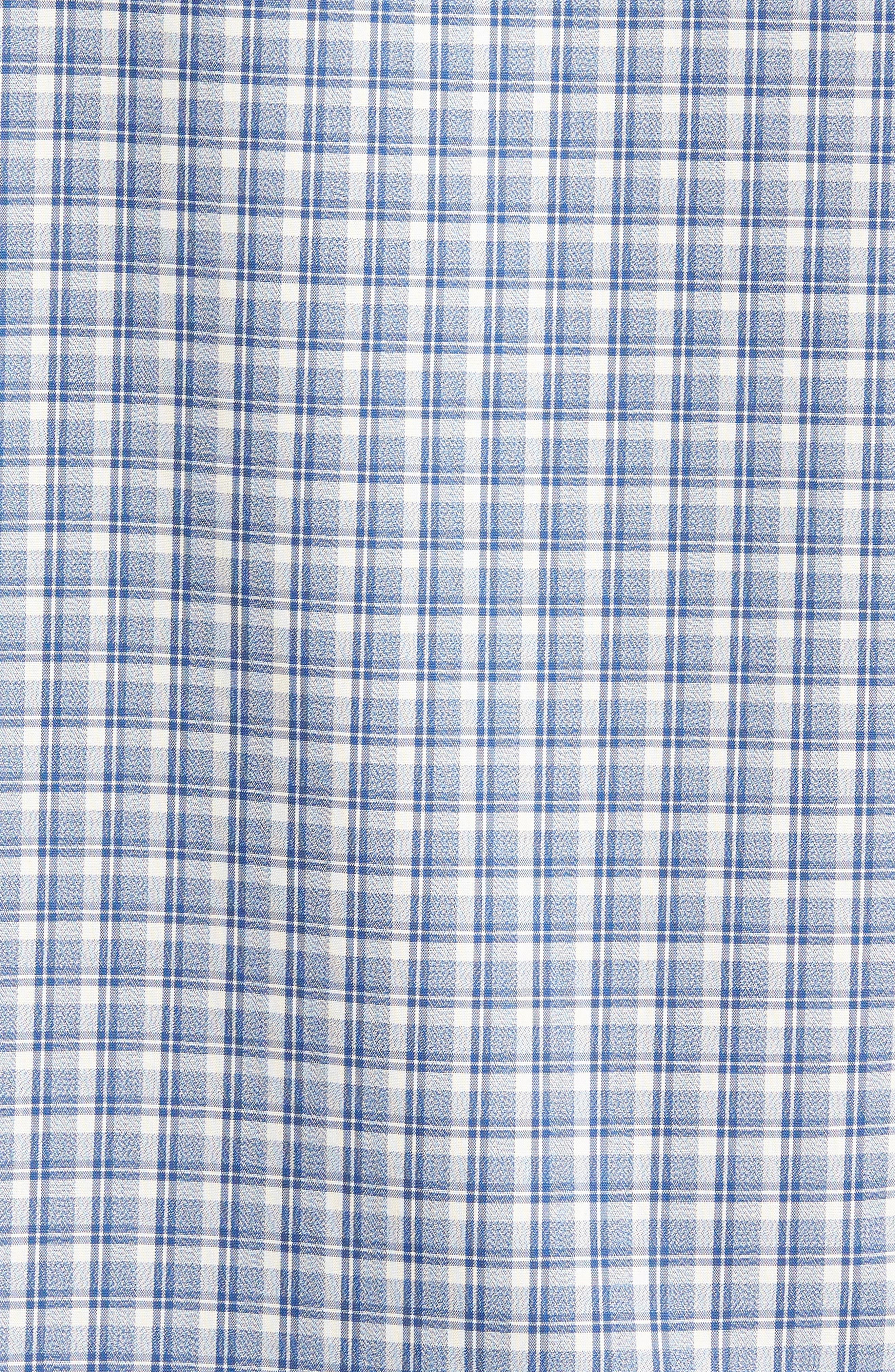 Smartcare<sup>™</sup> Regular Fit Plaid Sport Shirt,                             Alternate thumbnail 35, color,