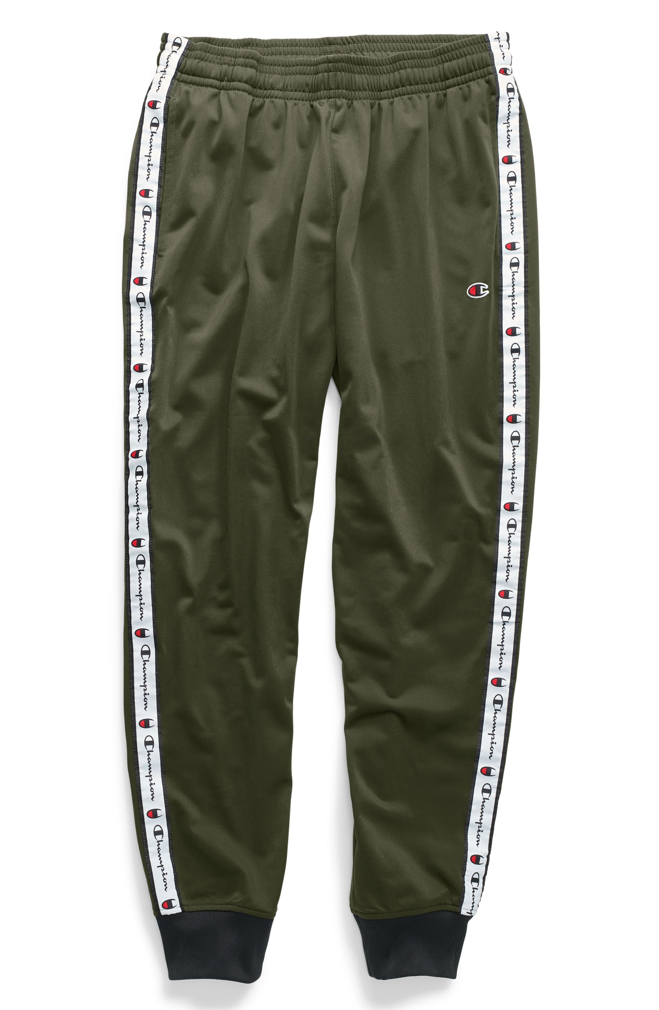 Track Pants,                             Alternate thumbnail 4, color,                             HIKER GREEN