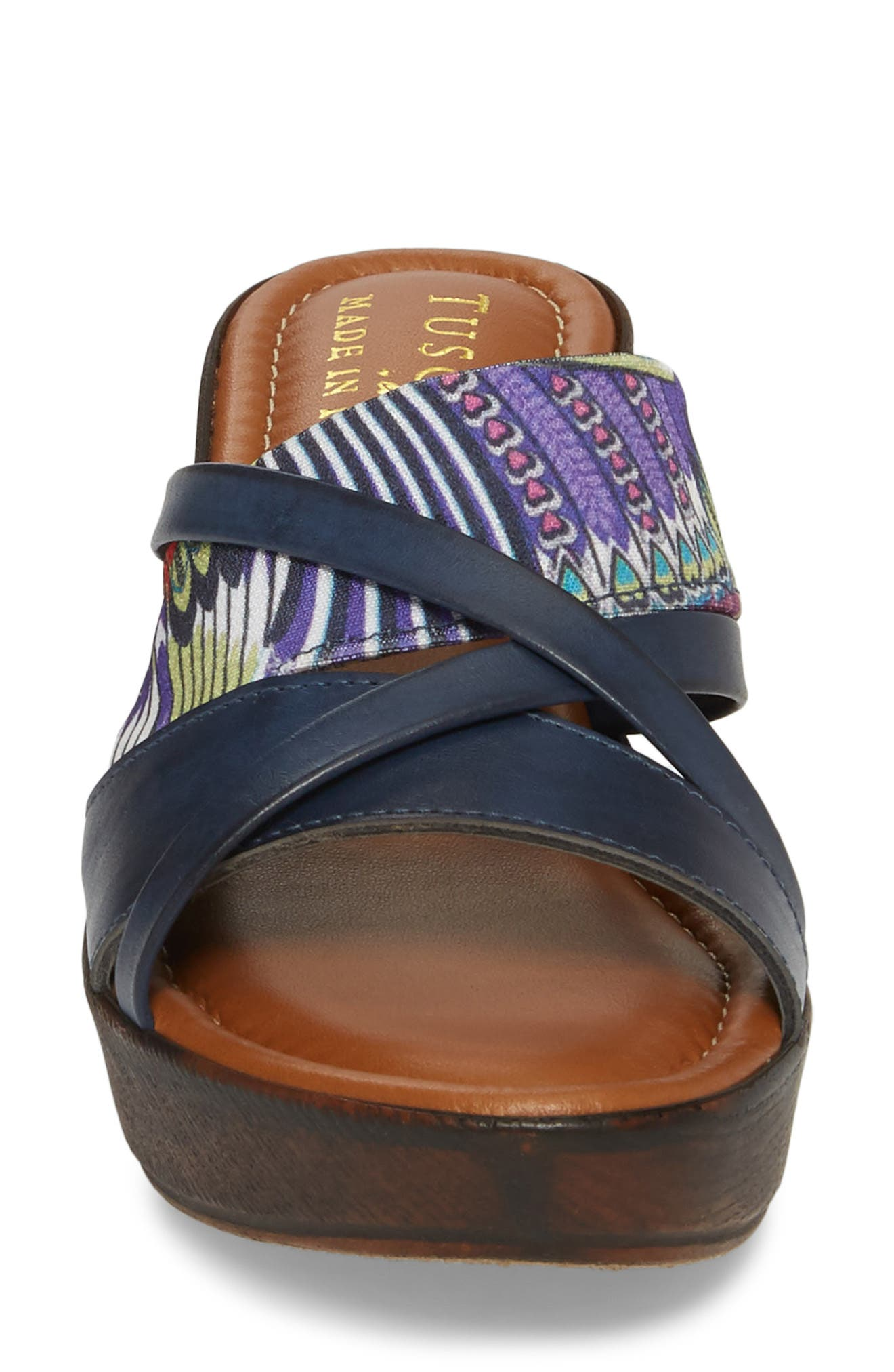 by East Street<sup>®</sup> Lucette Strappy Wedge Mule,                             Alternate thumbnail 19, color,