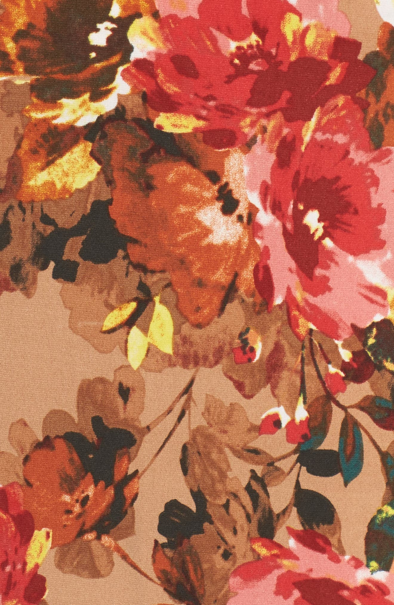 Jersey Midi Dress,                             Alternate thumbnail 5, color,