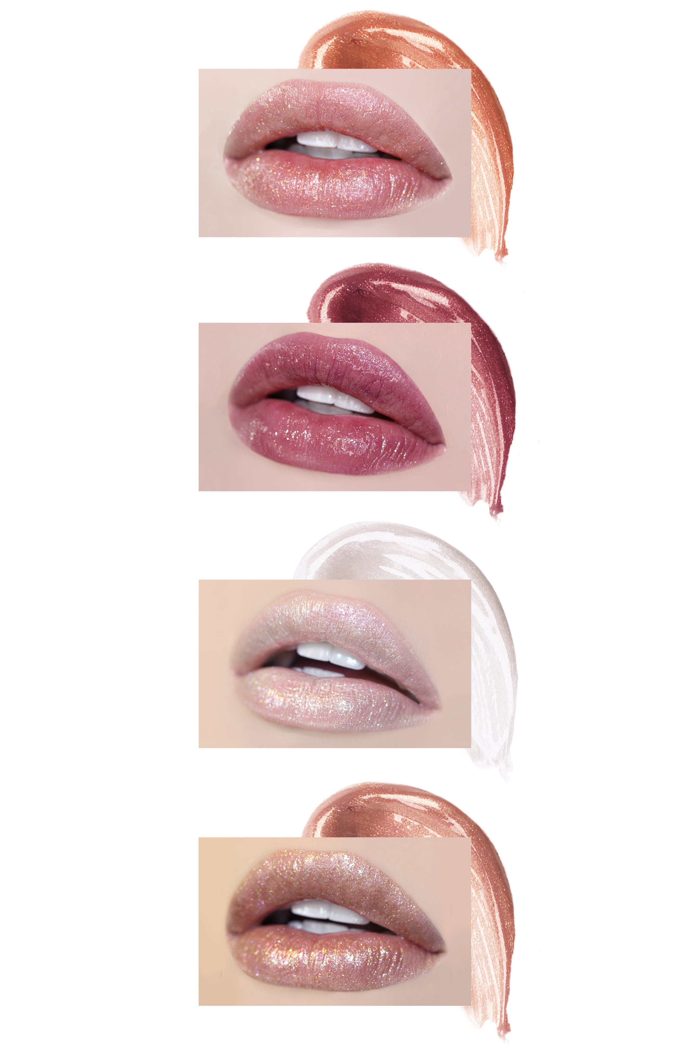 Best of Lip Toppers Mini Long-Wear Lip Topper Collection,                             Alternate thumbnail 5, color,                             000