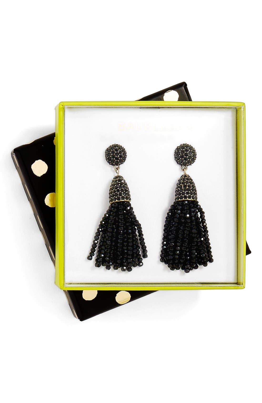 Annabelle Mini Tassel Drop Earrings,                             Main thumbnail 3, color,