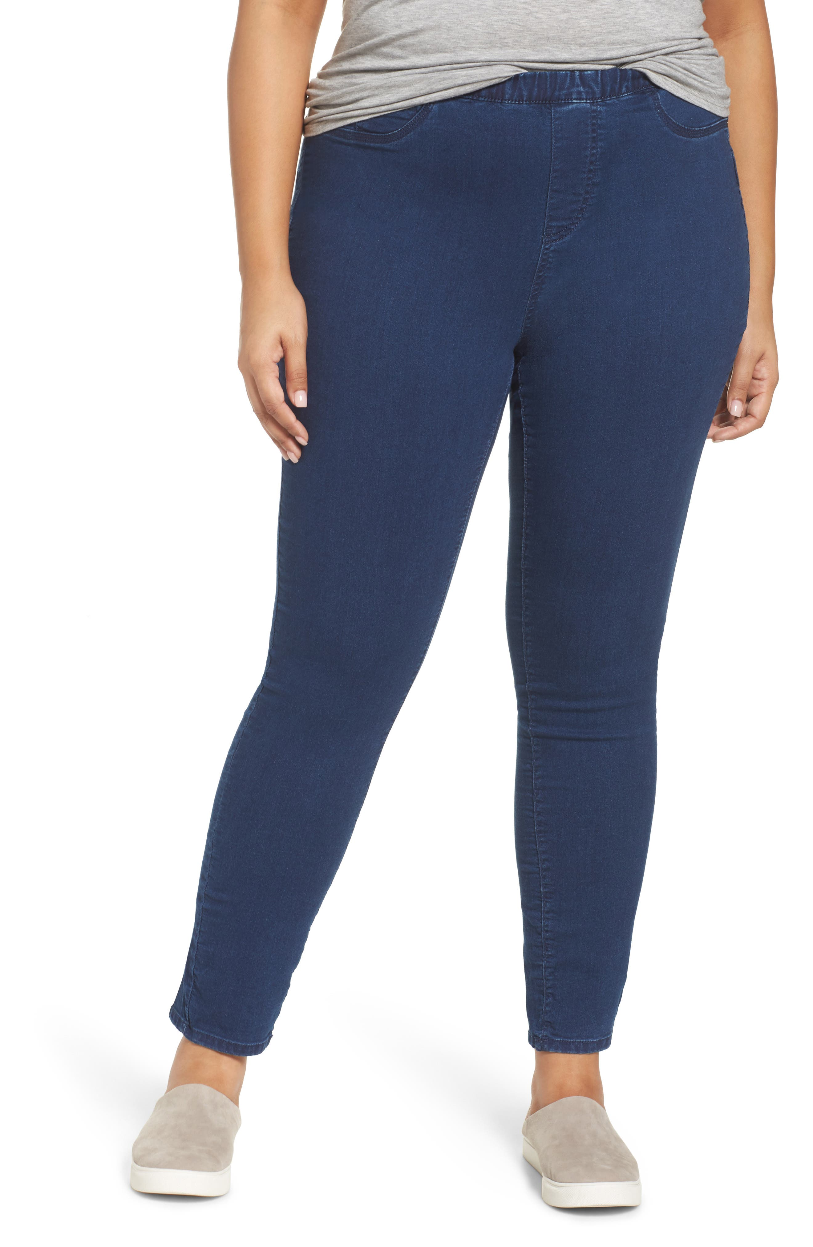 Denim Leggings,                             Main thumbnail 1, color,