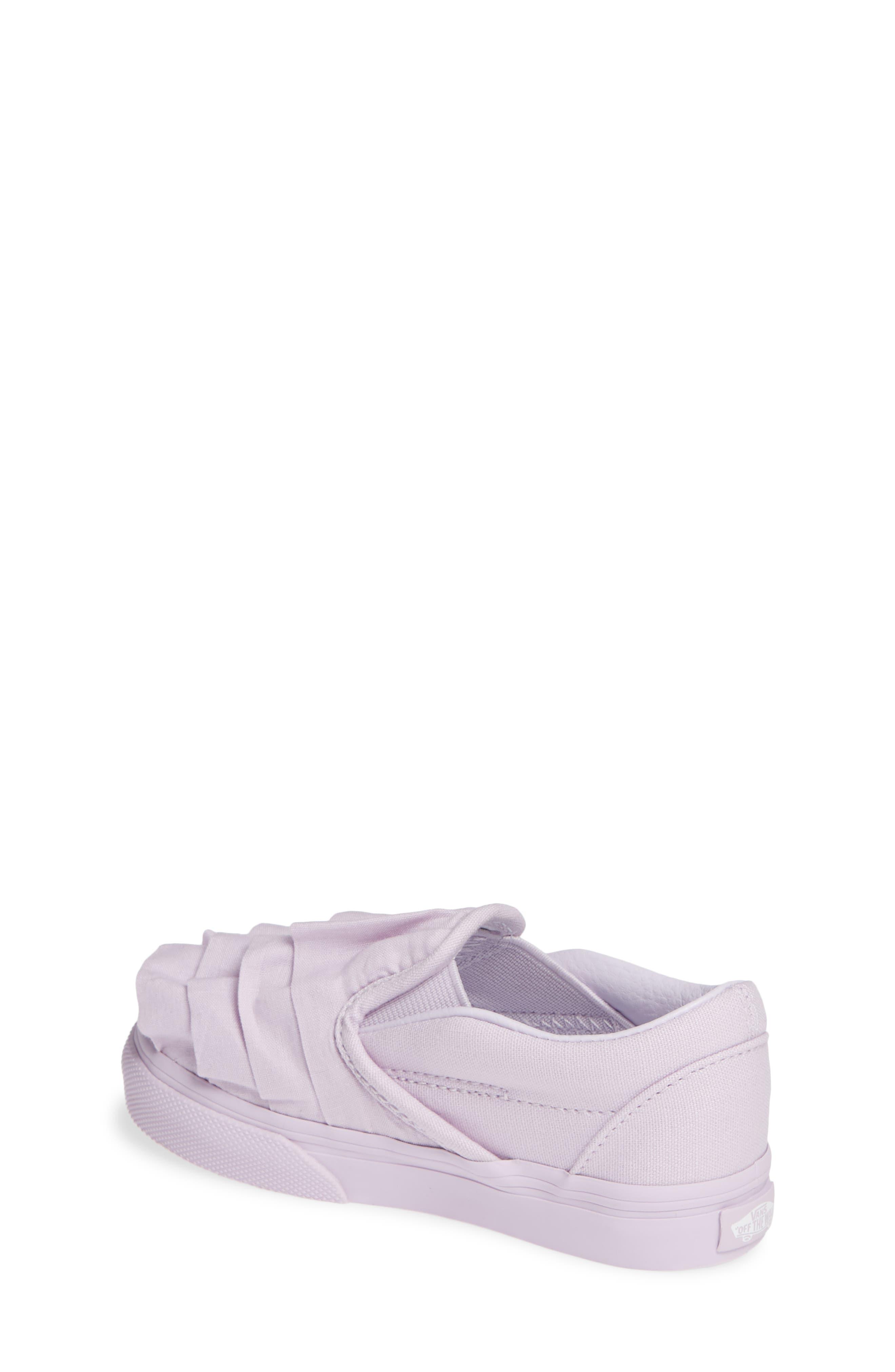 Ruffle Classic Slip-On Sneaker,                             Alternate thumbnail 2, color,                             530