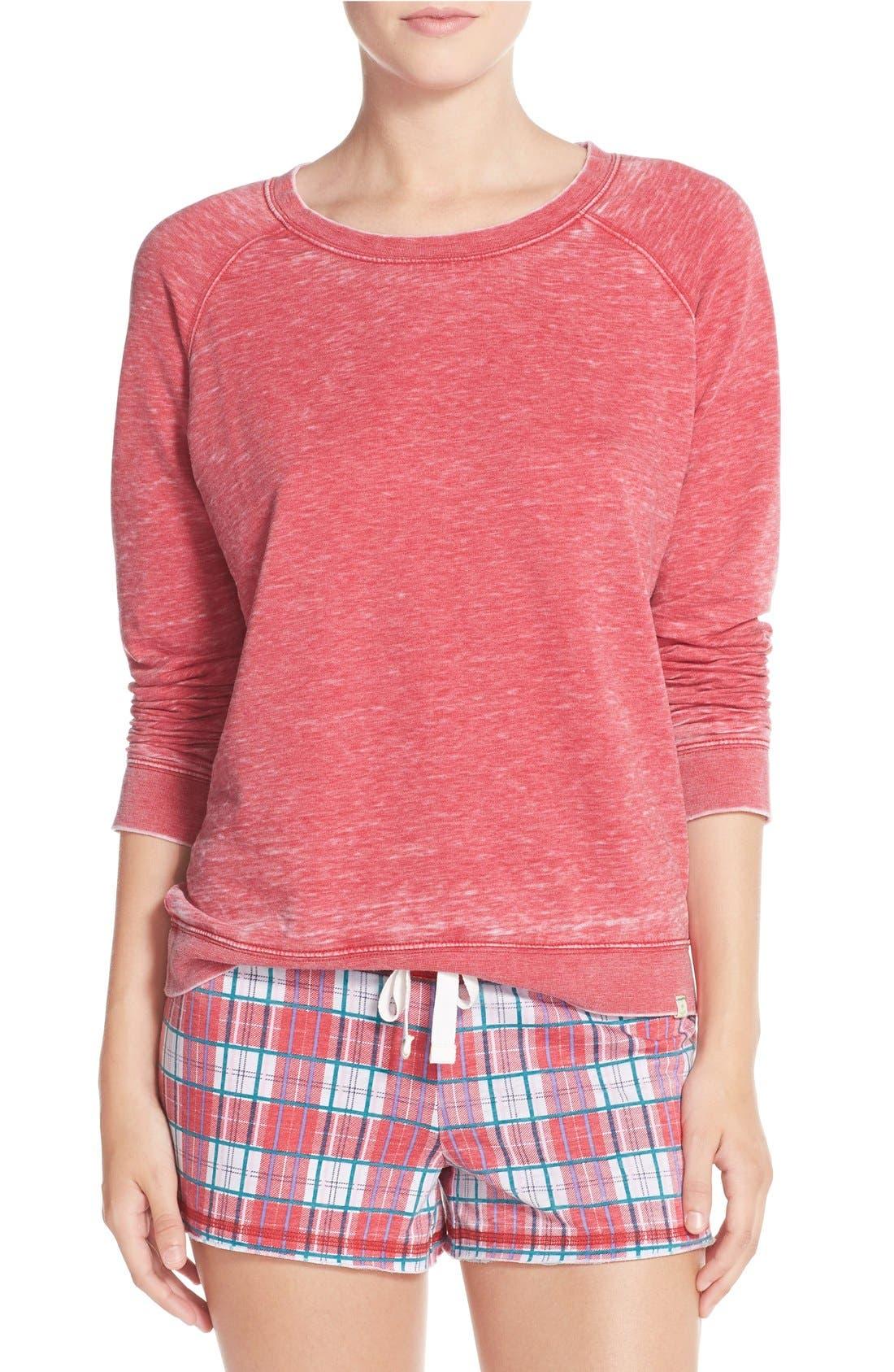 Burnout Lounge Sweatshirt,                             Main thumbnail 50, color,