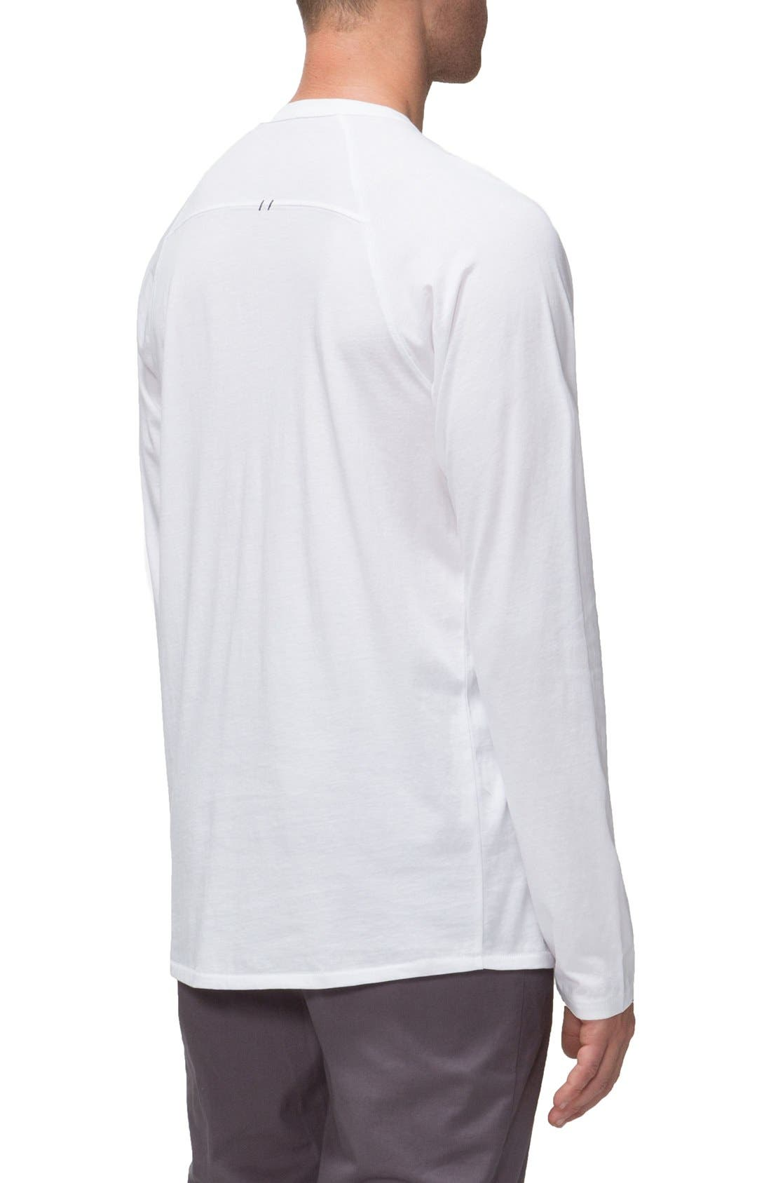 'Covert II' Raglan Long Sleeve T-Shirt,                             Alternate thumbnail 8, color,