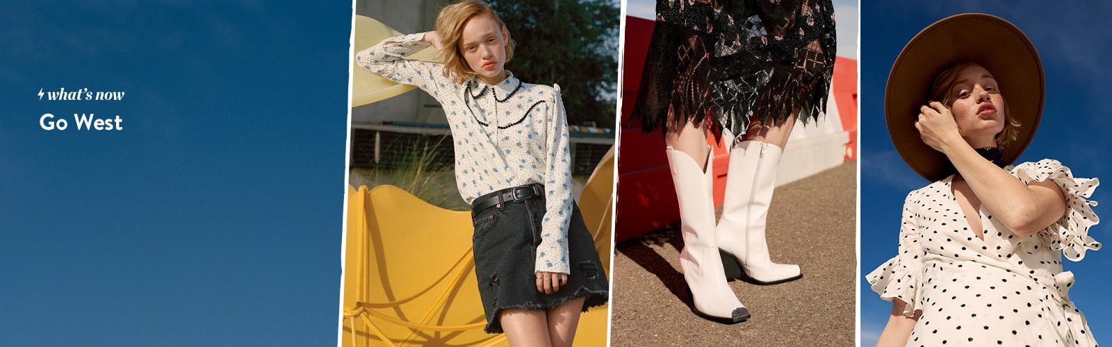 Topshop and trend clothing, shoes, handbags and accessories.