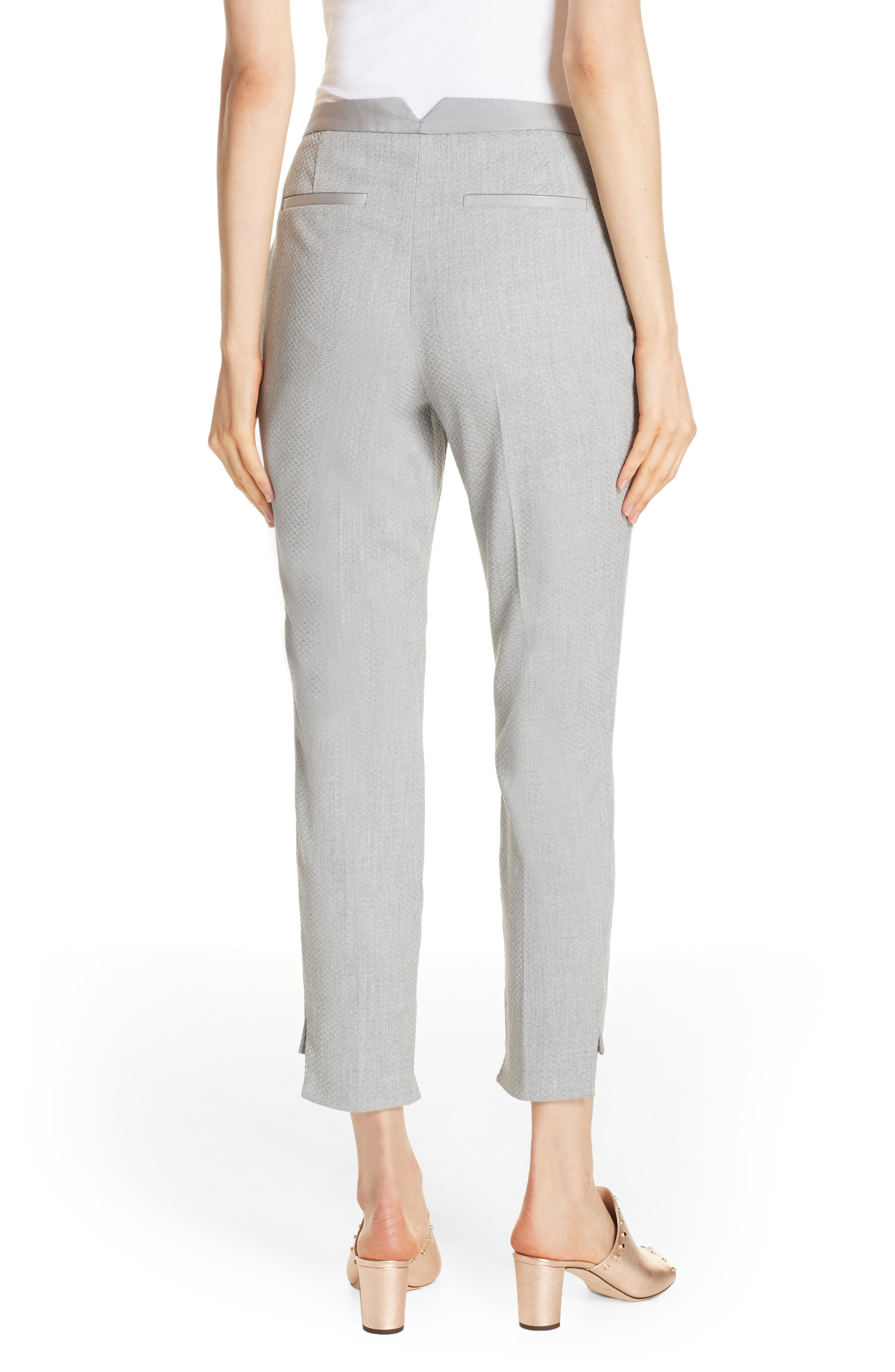 Ted Working Title Daizit Skinny Crop Pants,                             Alternate thumbnail 2, color,                             GREY