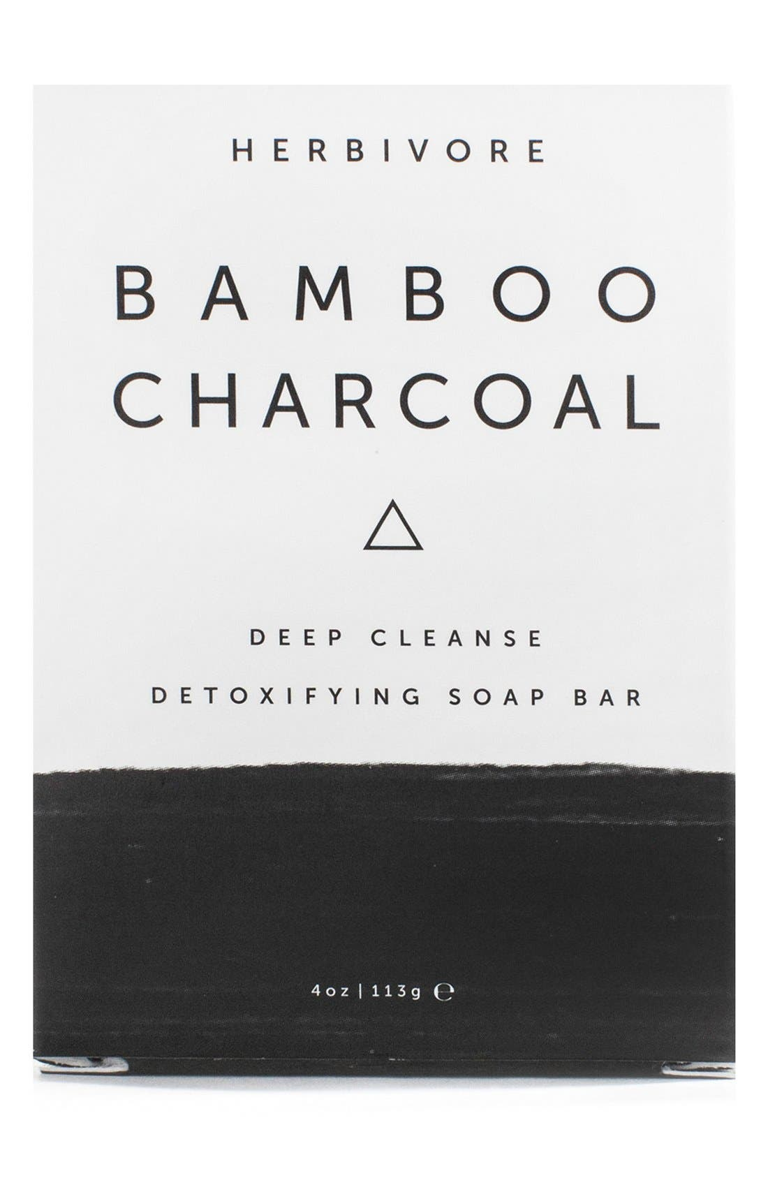 Bamboo Charcoal Cleansing Bar Soap,                             Main thumbnail 1, color,                             NONE