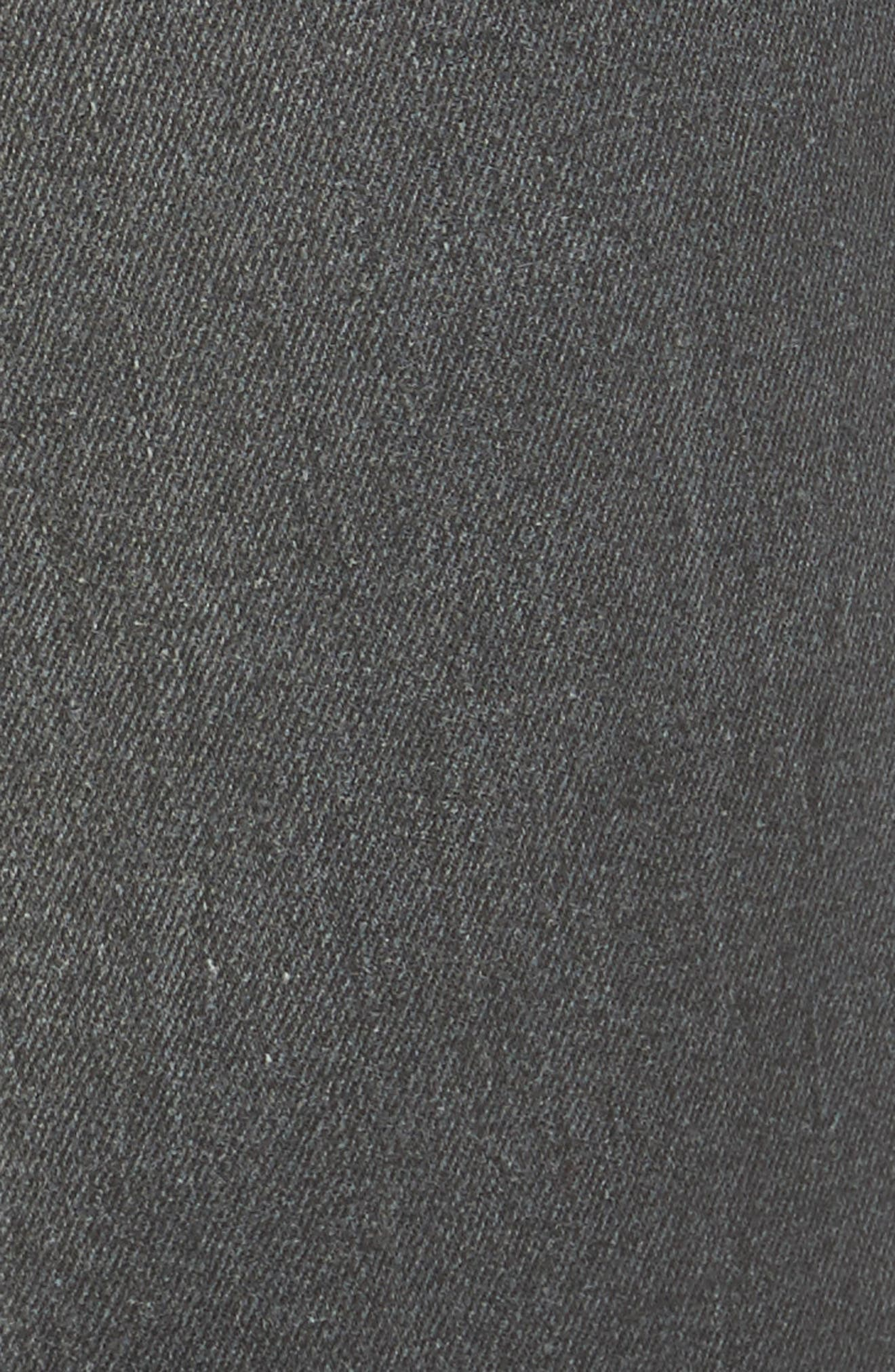 Rock Star Studded Skinny Jeans,                             Alternate thumbnail 5, color,