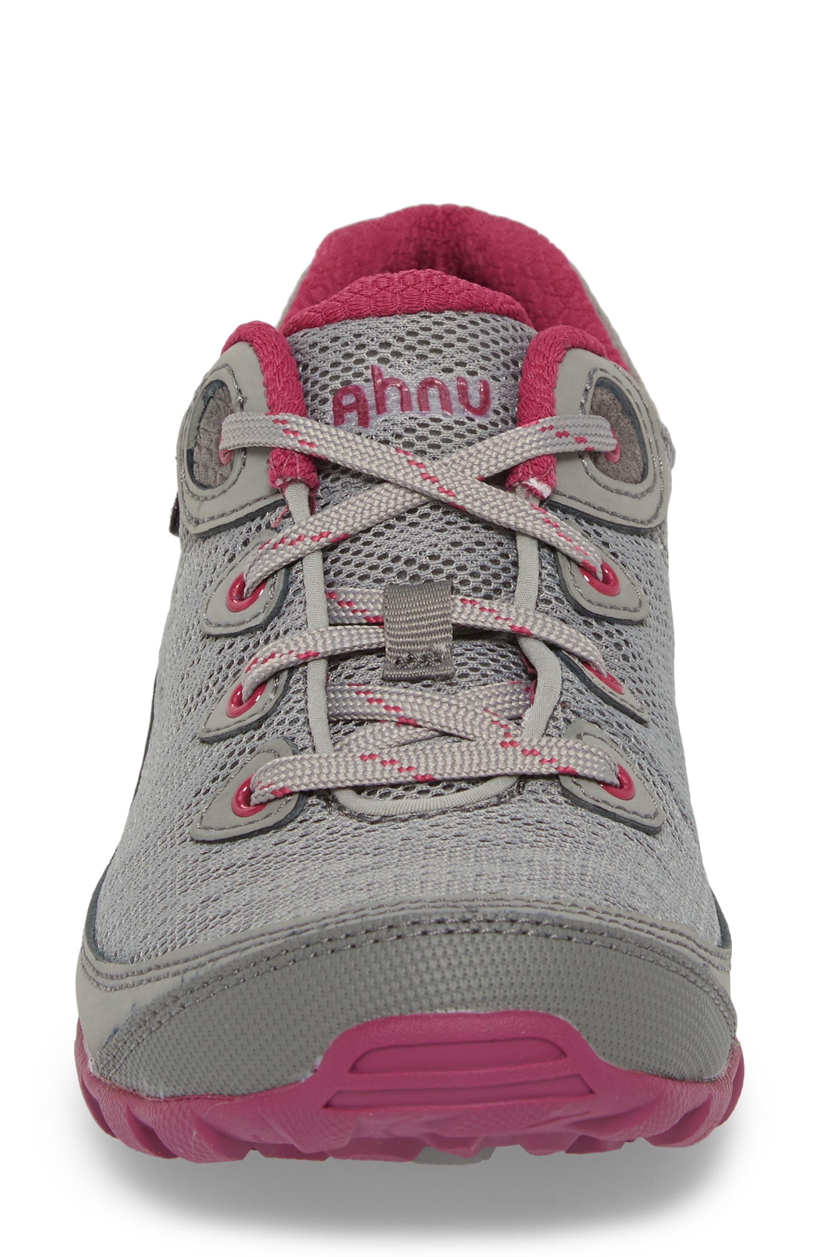 Ahnu by Teva Sugarpine II Air Mesh Hiking Waterproof Sneaker,                             Alternate thumbnail 4, color,                             WILD DOVE