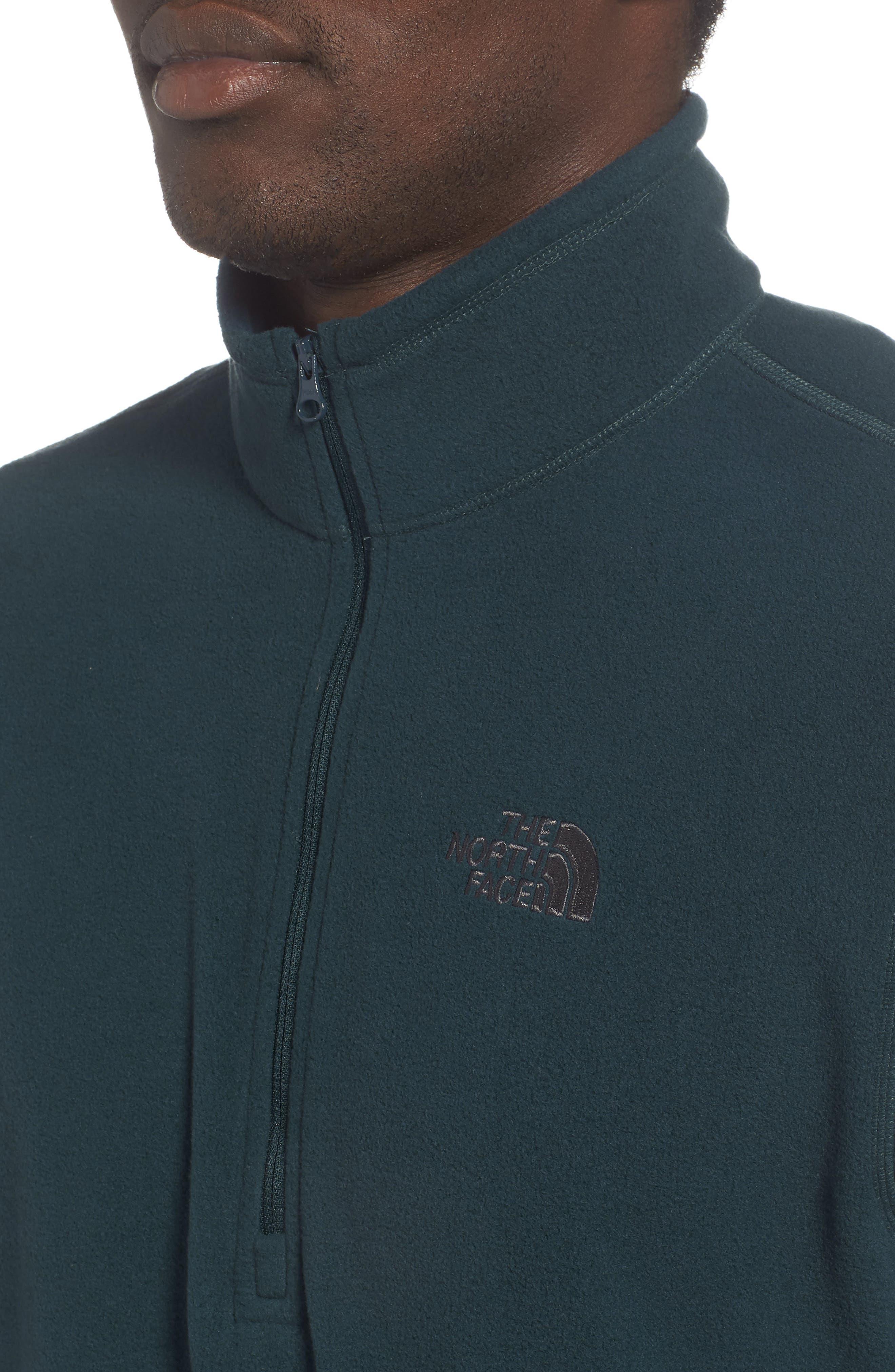 'TKA 100 Glacier' Quarter Zip Fleece Pullover,                             Alternate thumbnail 142, color,