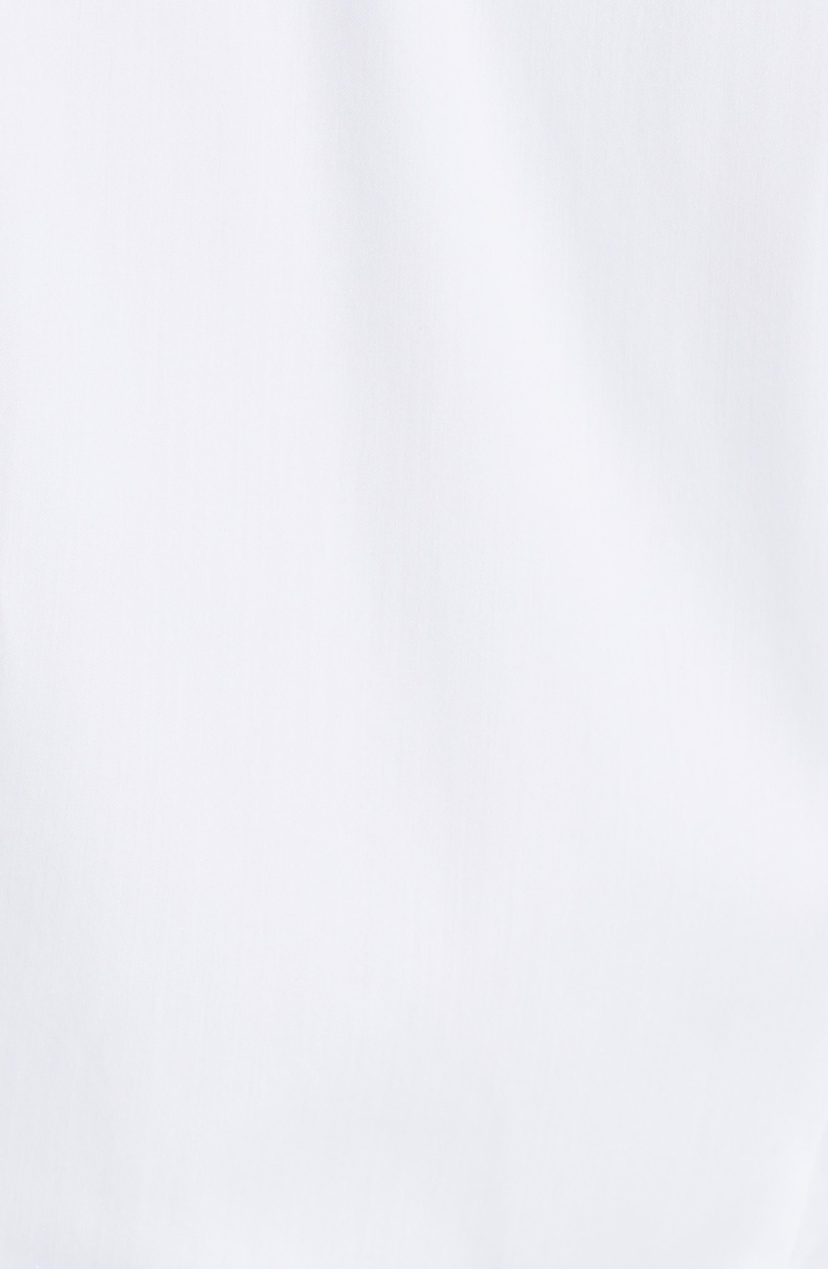 'Tenia' Cotton Blend Blouse,                             Alternate thumbnail 5, color,                             WHITE