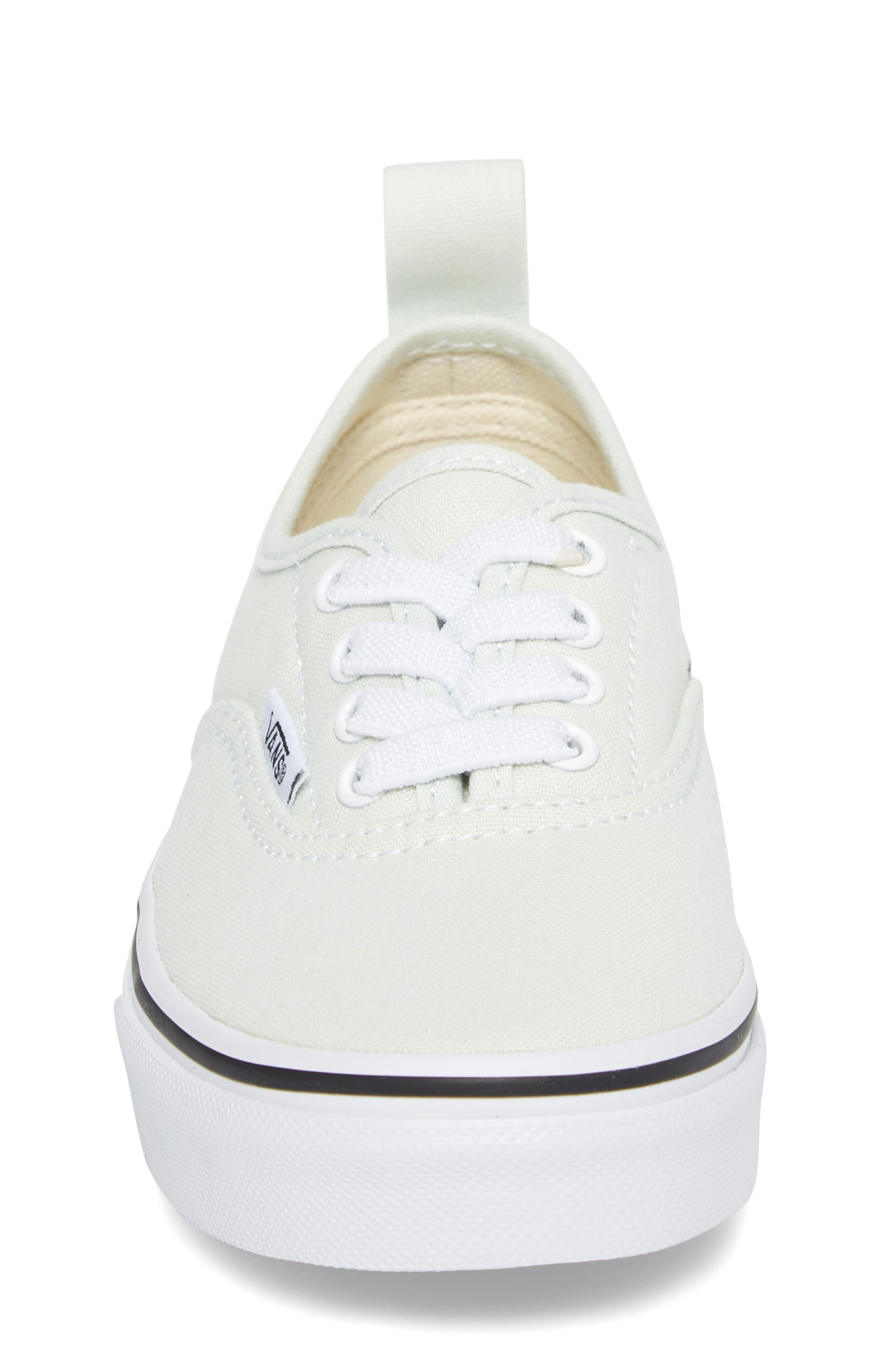 Authentic Elastic Lace Sneaker,                             Alternate thumbnail 4, color,                             420
