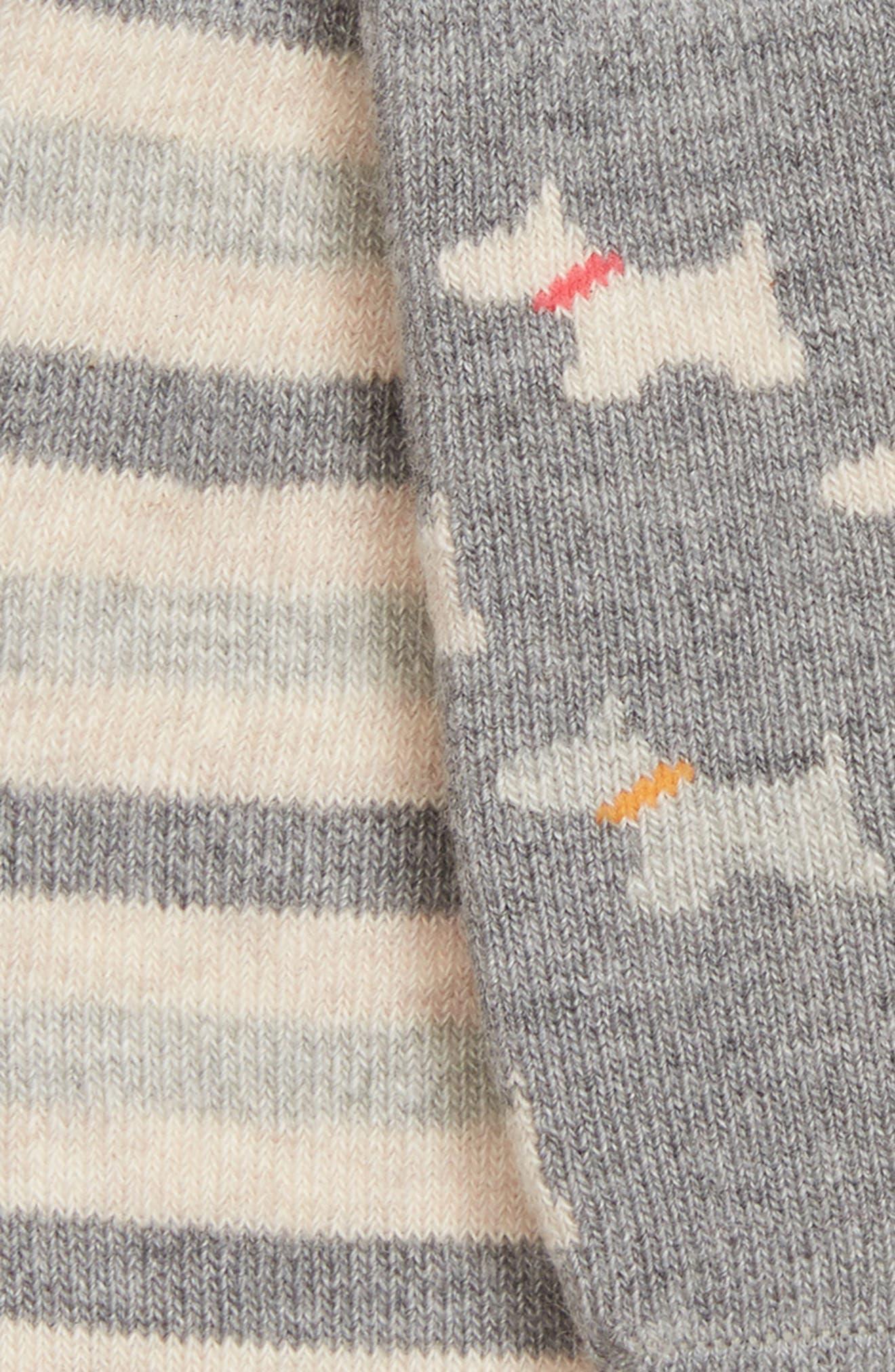 2-Pack Scottie Dog No-Show Socks,                             Alternate thumbnail 2, color,