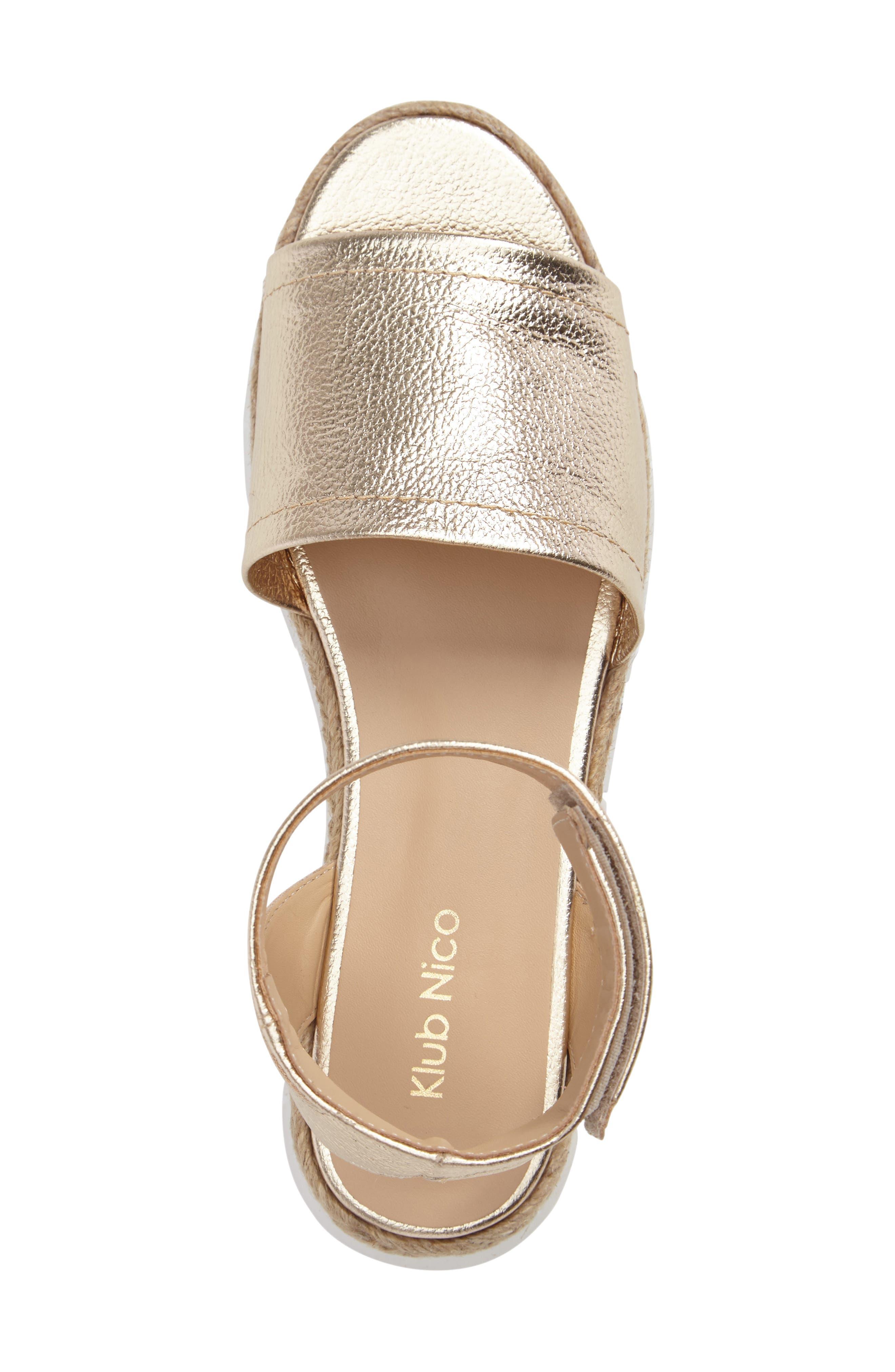 Cleo Platform Sandal,                             Alternate thumbnail 11, color,