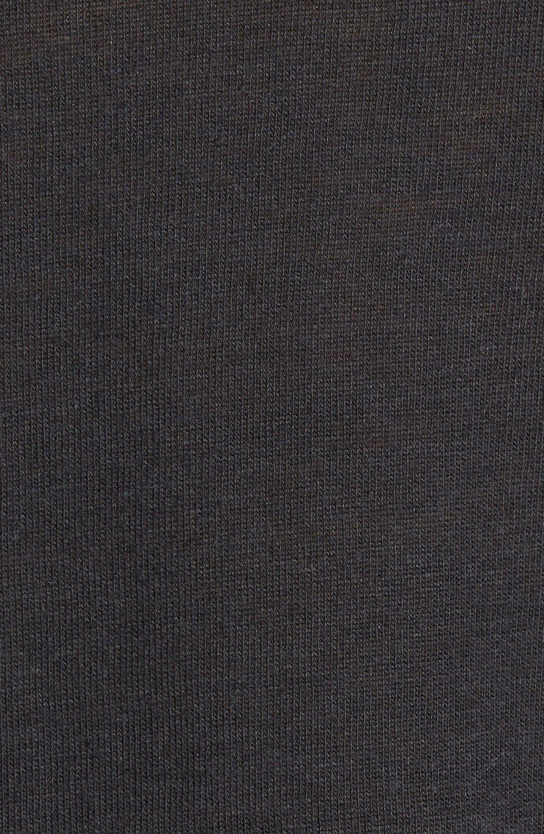 ALTERNATIVE,                             Open Neck T-Shirt,                             Alternate thumbnail 3, color,                             001