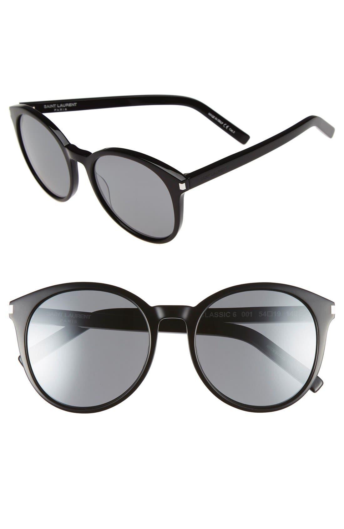 'Classic' 54mm Sunglasses,                             Main thumbnail 1, color,                             001