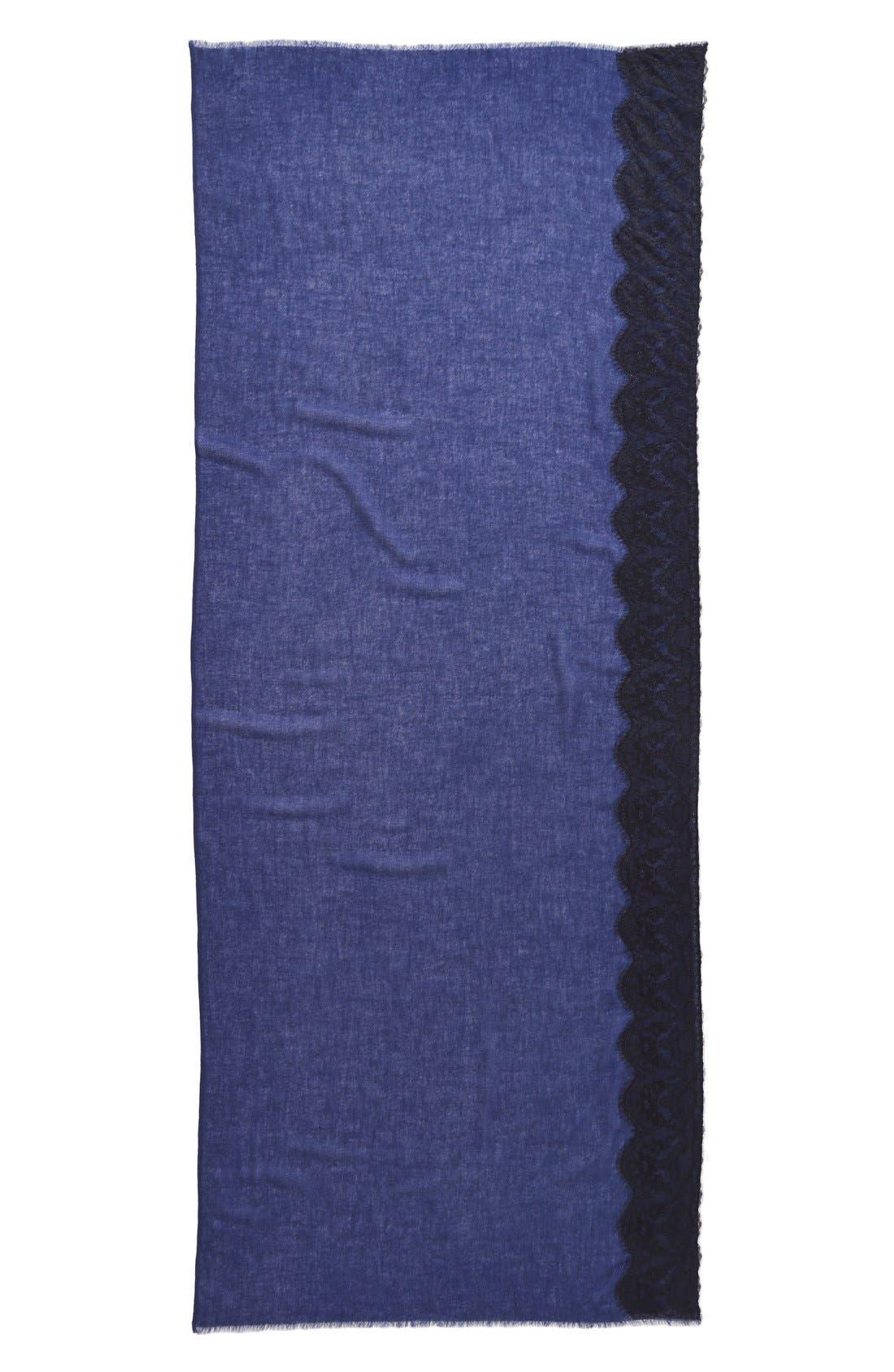 Lace Trim Wrap,                             Alternate thumbnail 8, color,