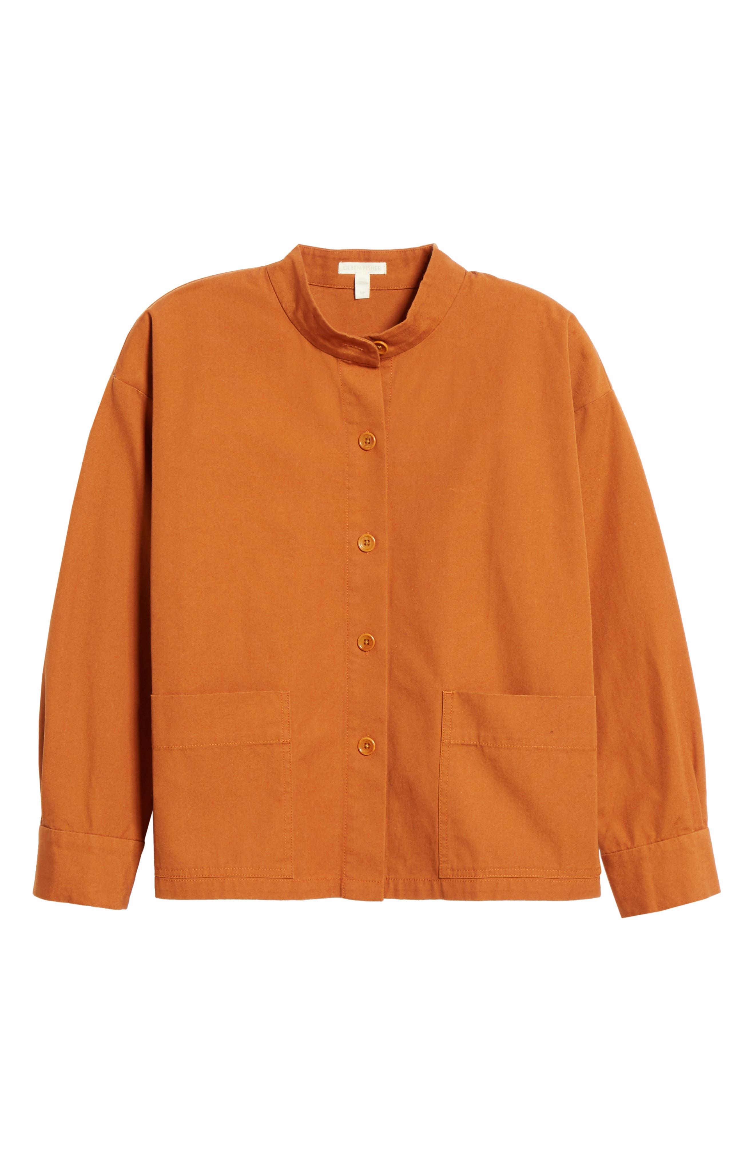Organic Cotton Jacket,                             Alternate thumbnail 6, color,                             MUSK