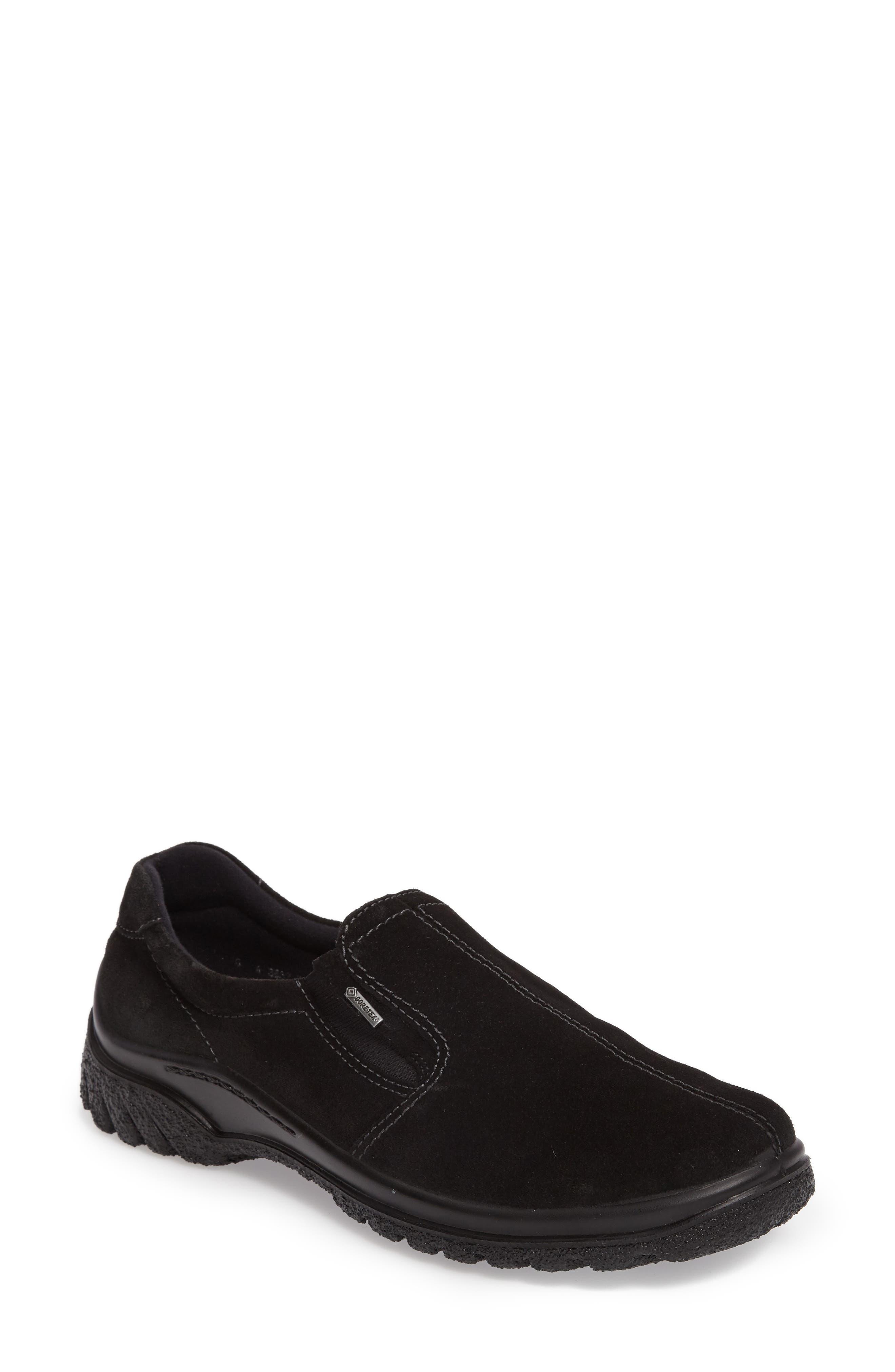 Parson Waterproof Gore-Tex<sup>®</sup> Slip-On Sneaker,                             Main thumbnail 1, color,                             001