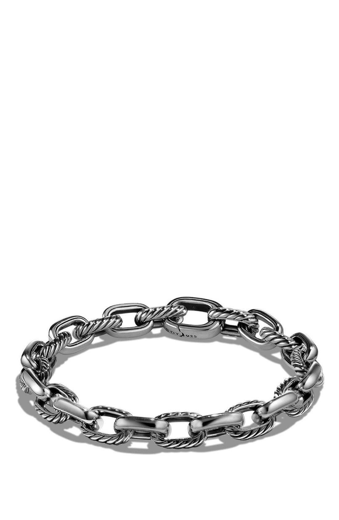 'Cable Classics' Oval Link Bracelet,                         Main,                         color, 040