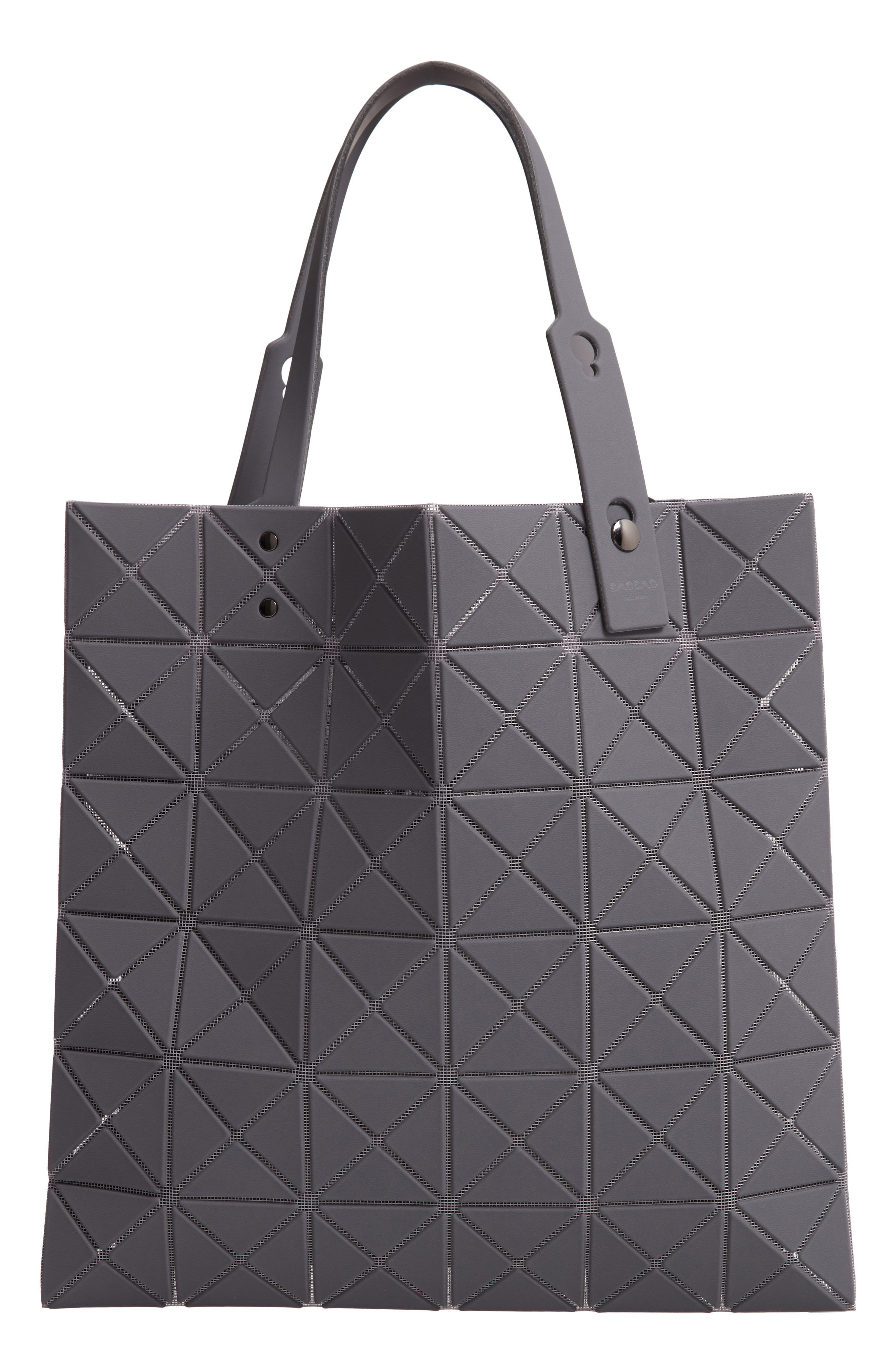 Lucent Prism Tote Bag - Grey in Gray