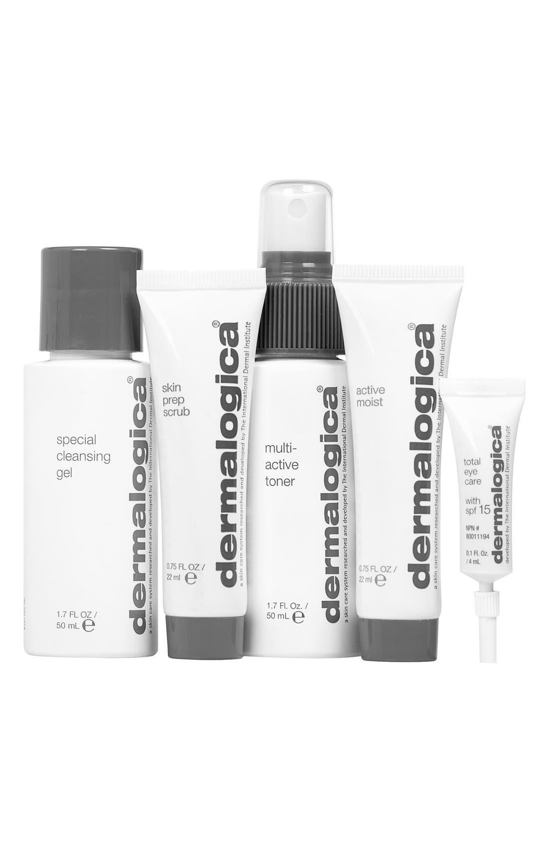 Skin Kit for Normal/Oily Skin,                         Main,                         color, NO COLOR