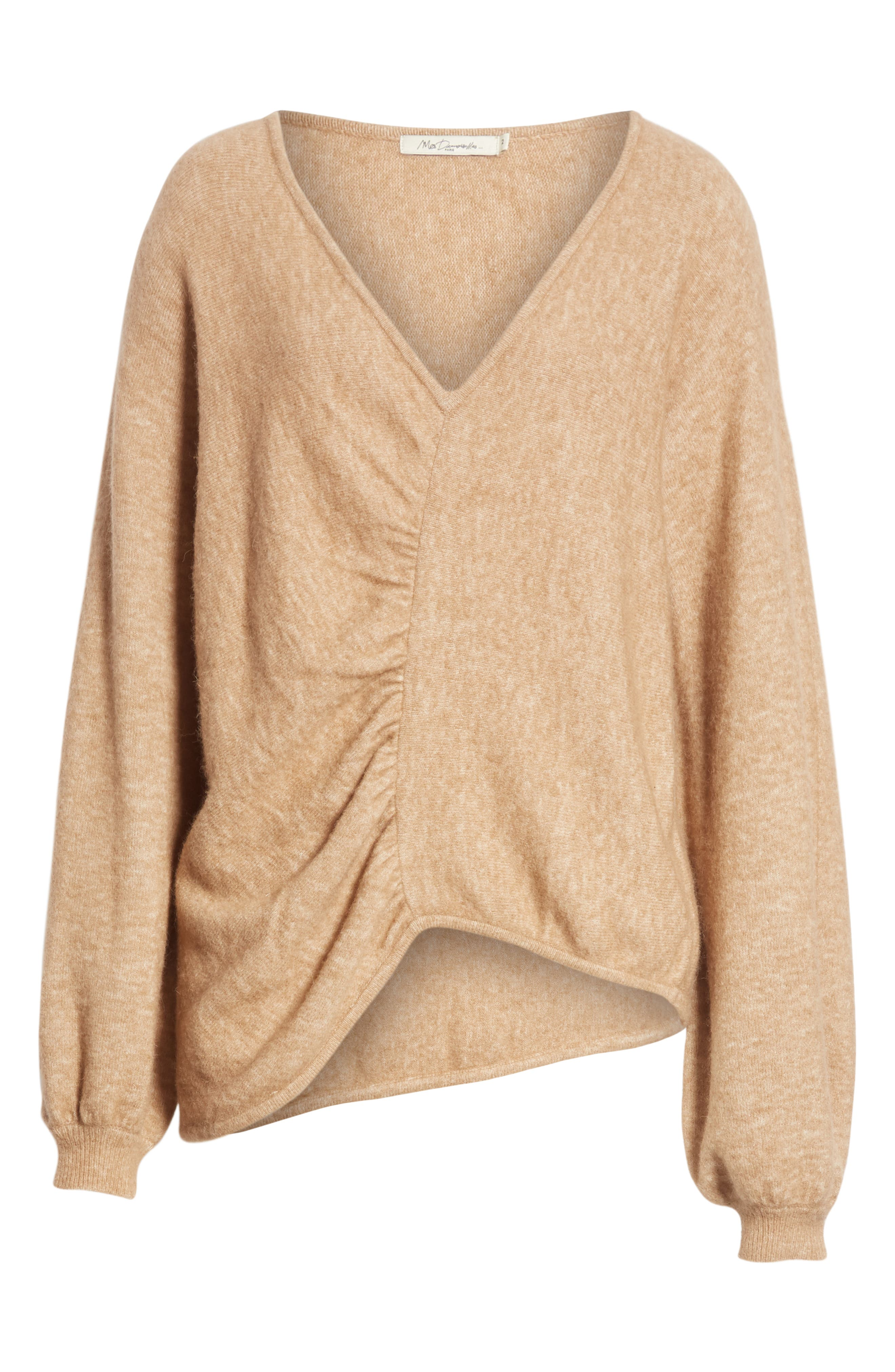 Meridien Sweater,                             Alternate thumbnail 6, color,                             CAMEL