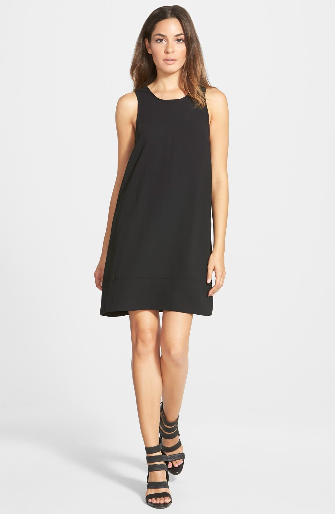 Racerback Shift Dress,                         Main,                         color,