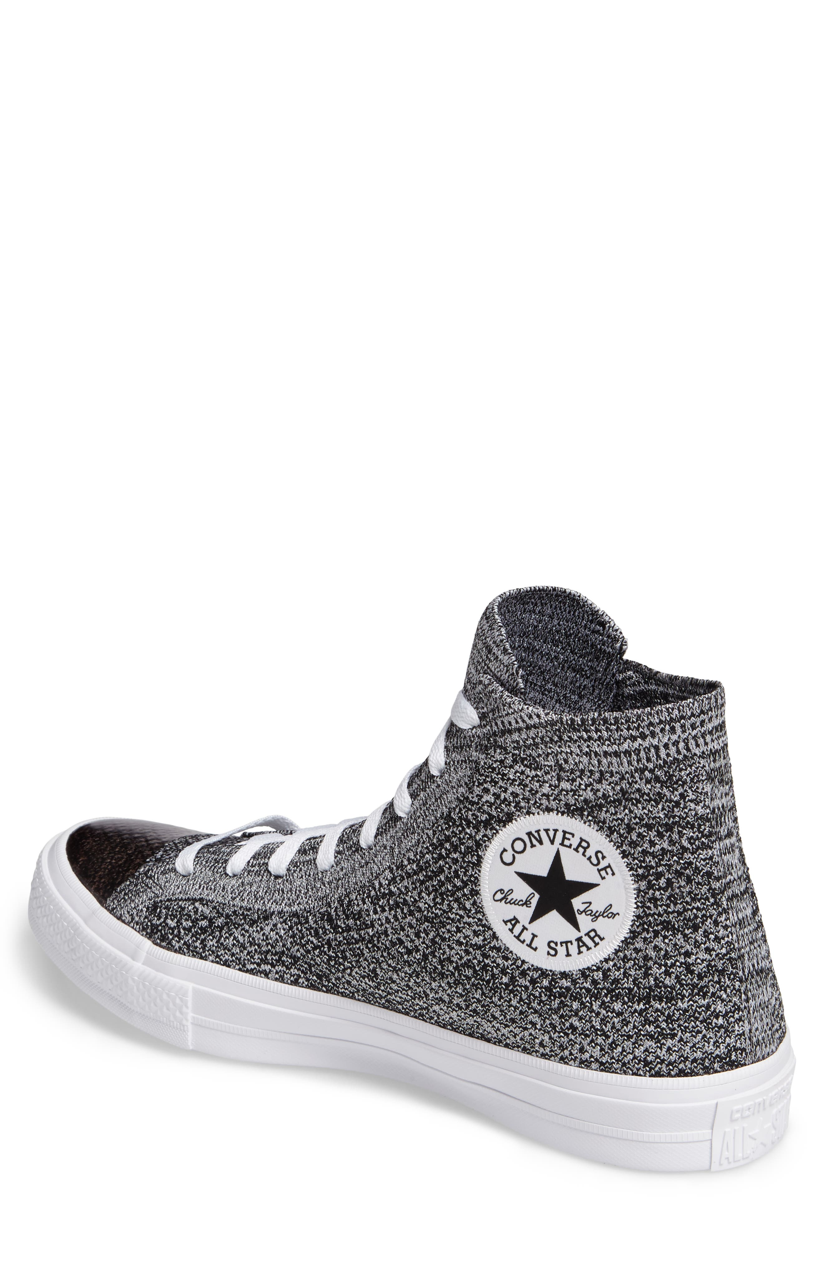 Chuck Taylor<sup>®</sup> All Star<sup>®</sup> Flyknit Hi Sneaker,                             Alternate thumbnail 8, color,