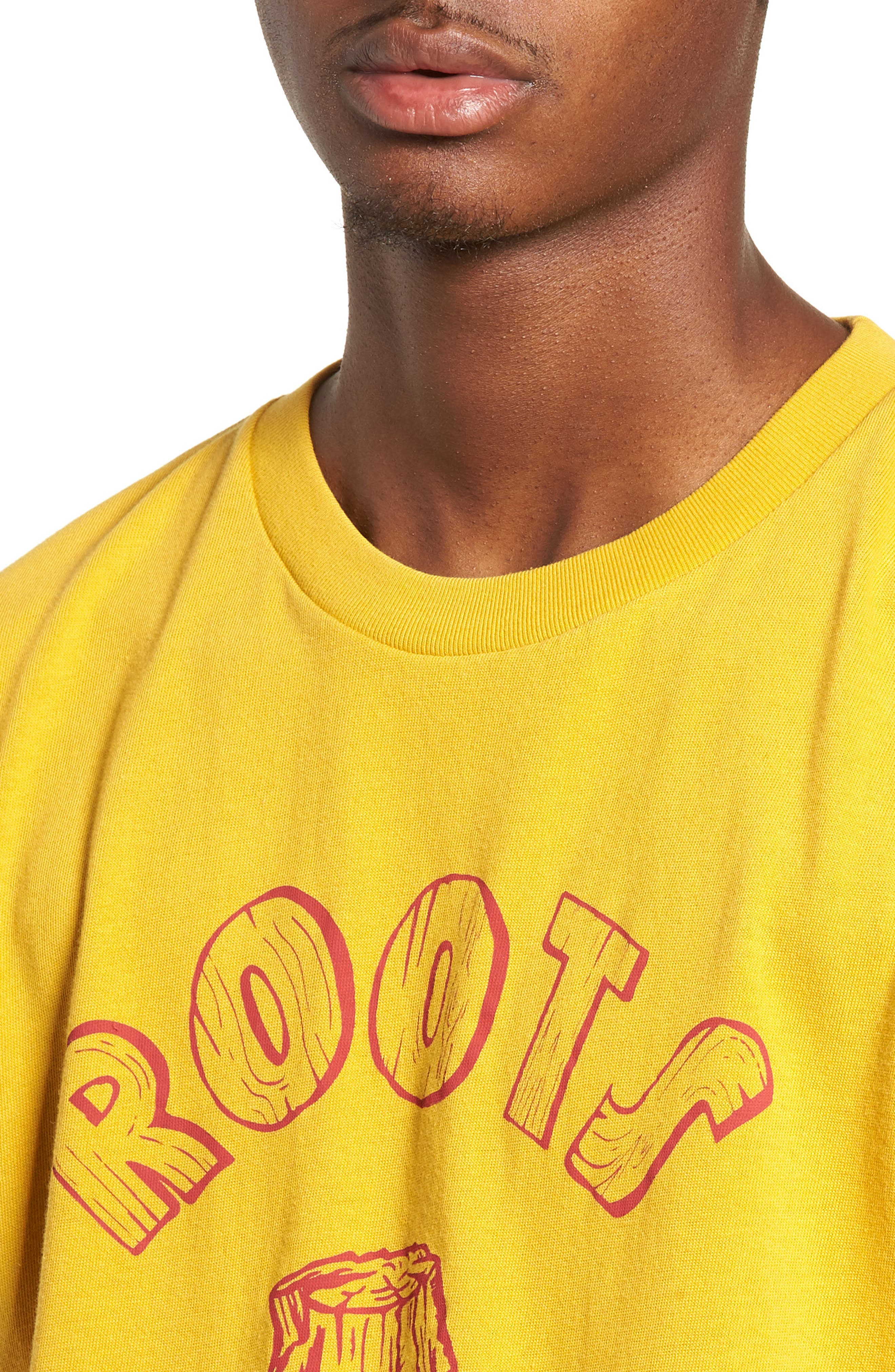 Graphic Slim Fit T-Shirt,                             Alternate thumbnail 4, color,                             700