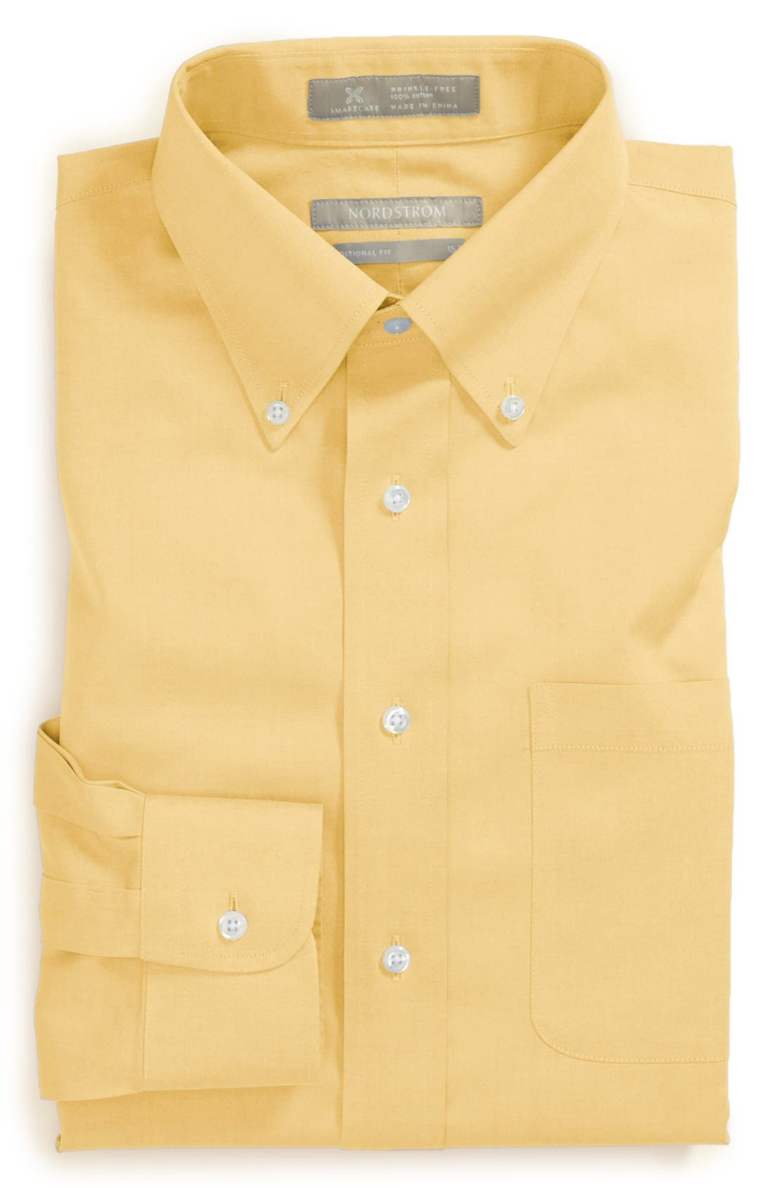 Smartcare<sup>™</sup> Traditional Fit Pinpoint Dress Shirt,                             Main thumbnail 40, color,