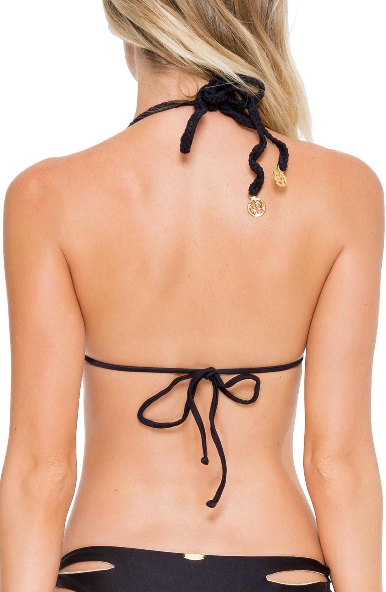 Reversible Triangle Bikini Top,                             Alternate thumbnail 9, color,