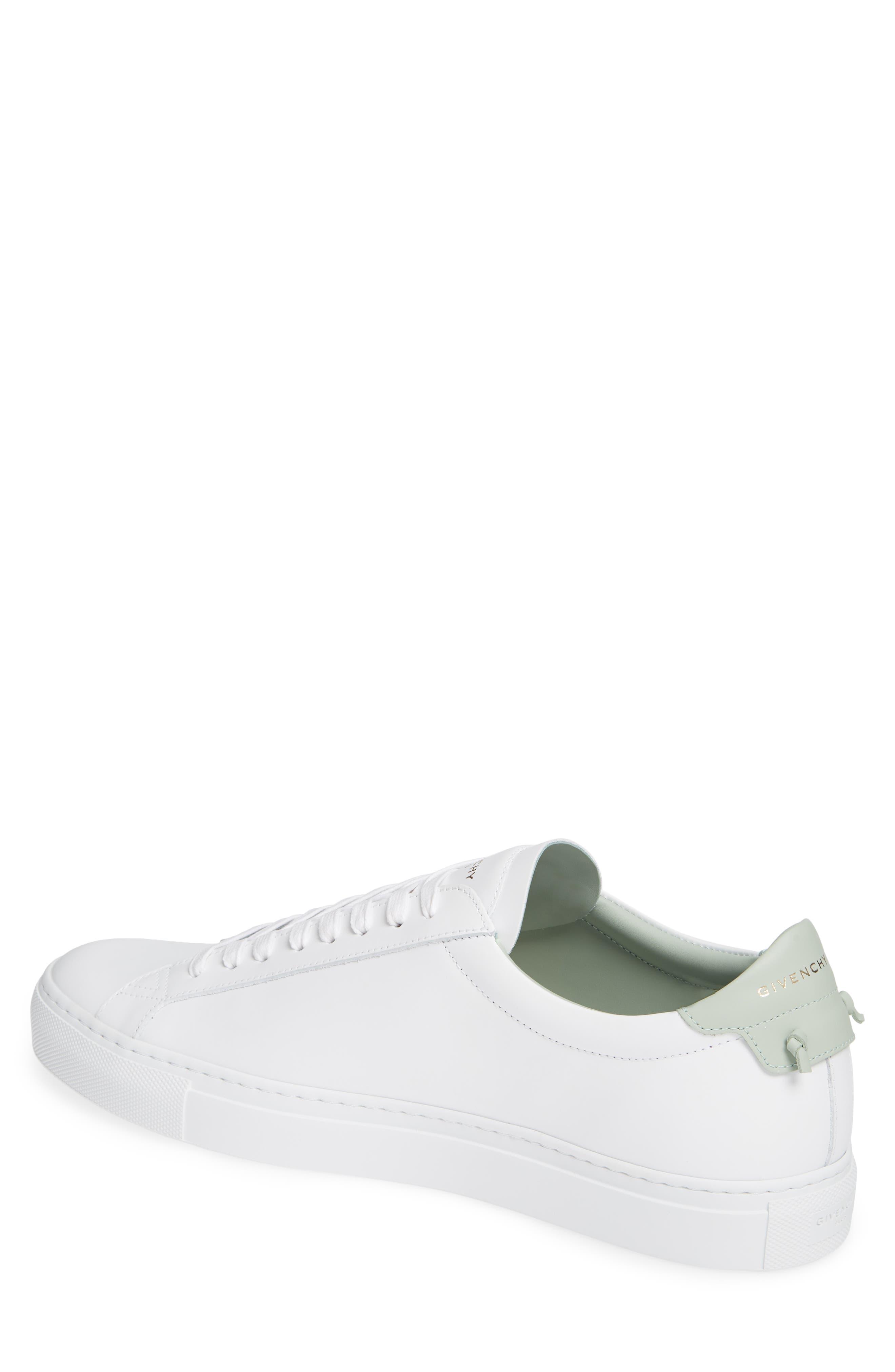 'Urban Knots Lo' Sneaker,                             Alternate thumbnail 2, color,                             WHITE/ GREEN