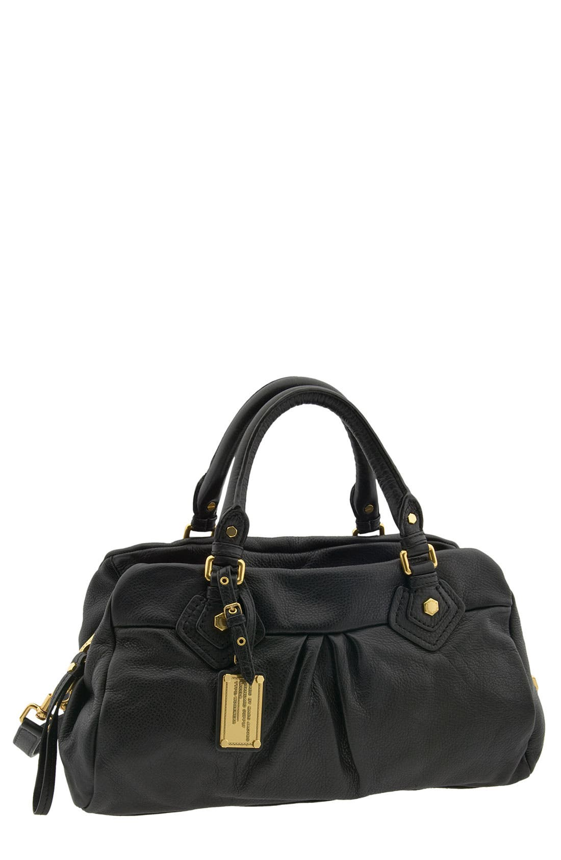 MARC BY MARC JACOBS 'Classic Q - Groovee' Satchel,                         Main,                         color, 001