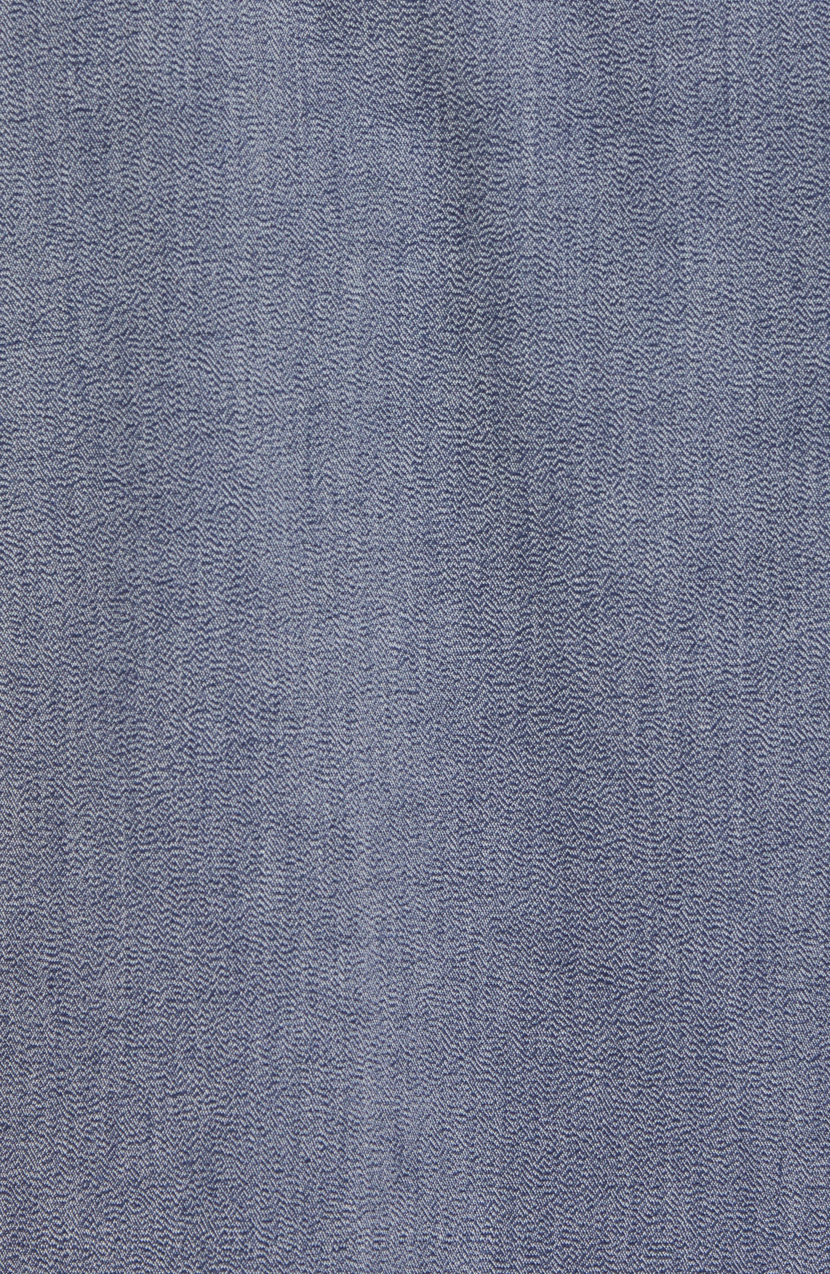 Regular Fit Short Sleeve Sport Shirt,                             Alternate thumbnail 5, color,                             BLUE