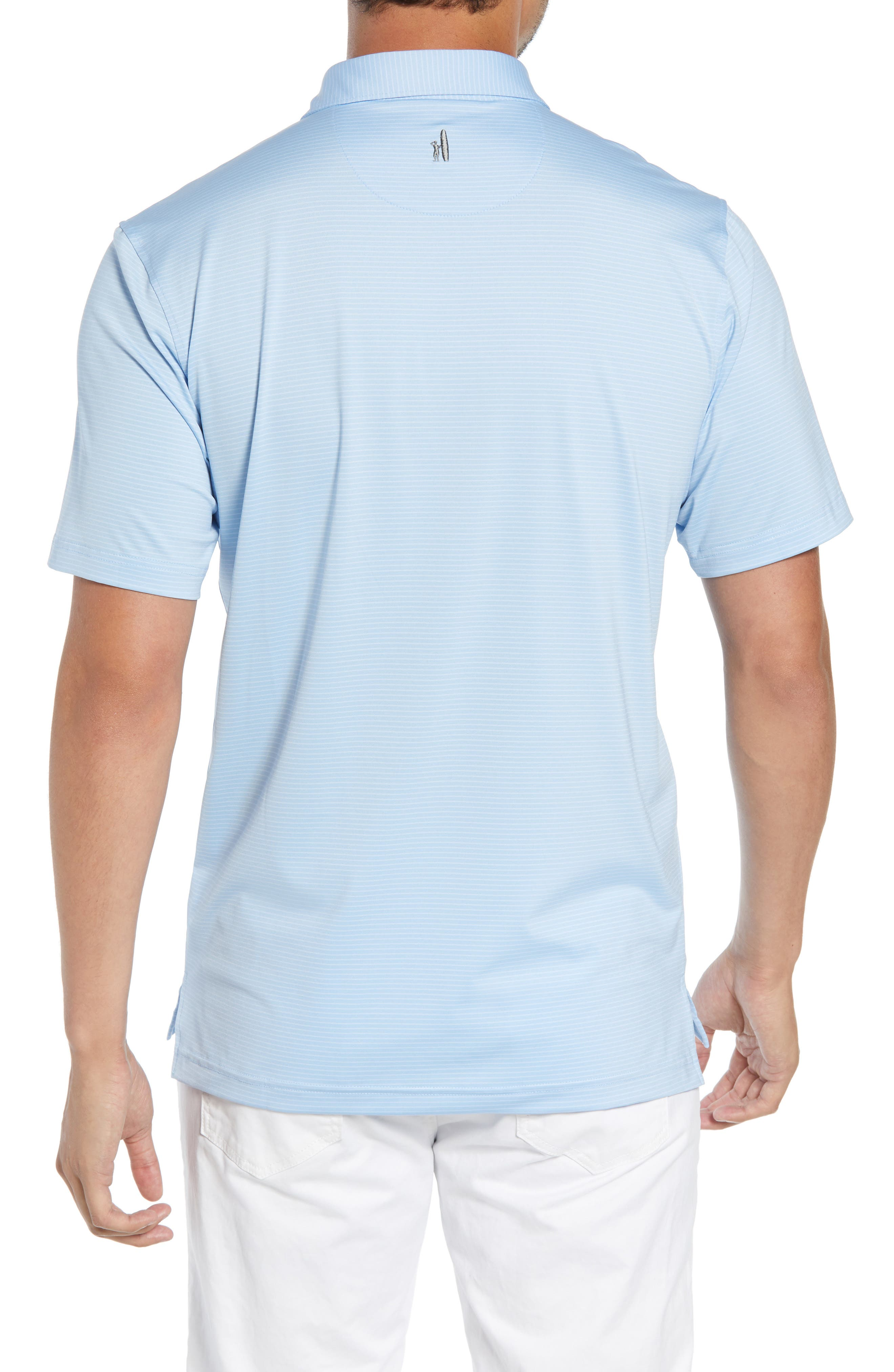 Albatross Regular Fit Stripe Prep-Formance Polo,                             Alternate thumbnail 2, color,                             GULF BLUE