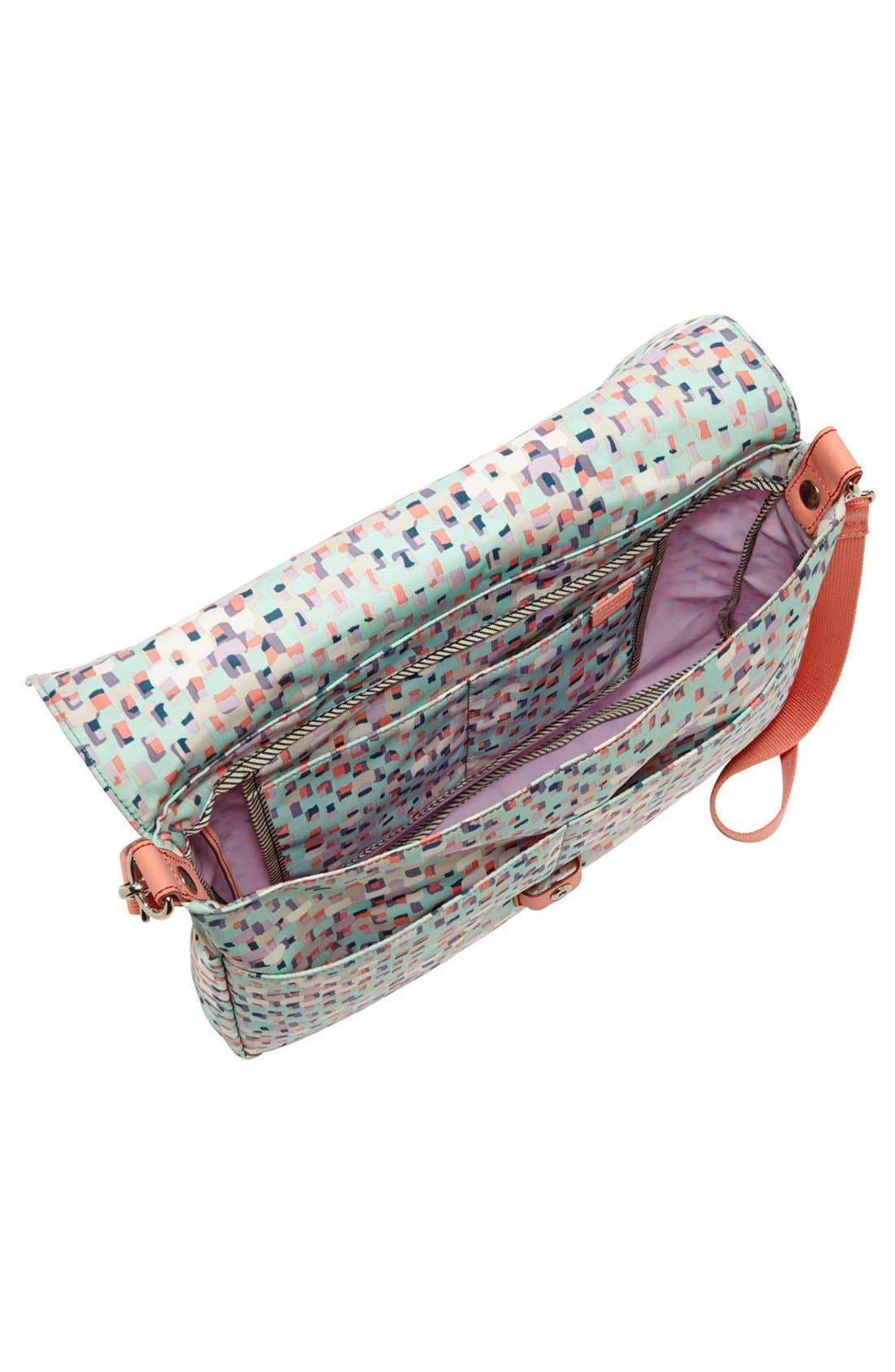 FOSSIL,                             'Key-Per' Messenger Bag,                             Alternate thumbnail 3, color,                             403