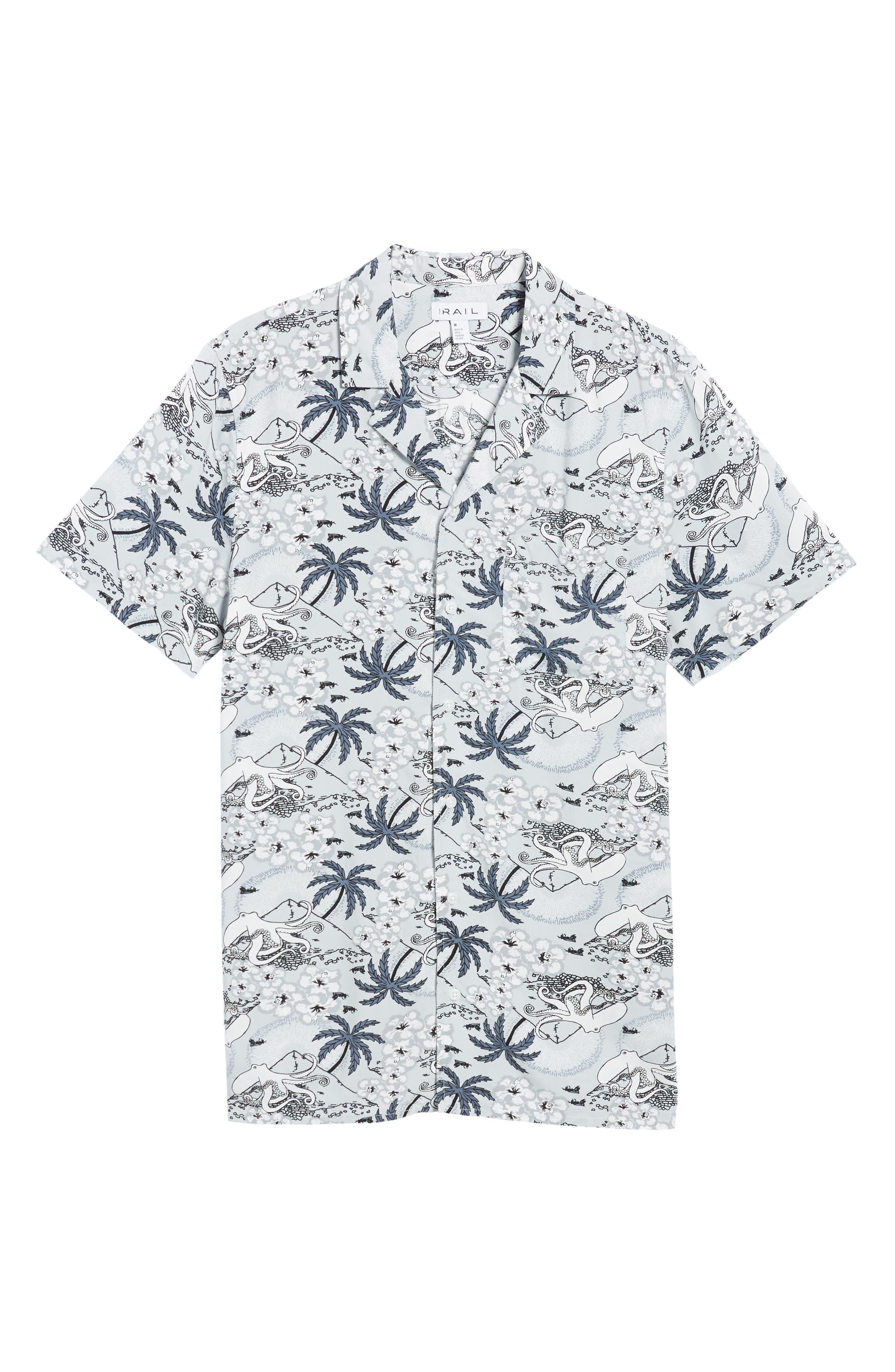 Camp Collar Shirt,                             Alternate thumbnail 6, color,                             030