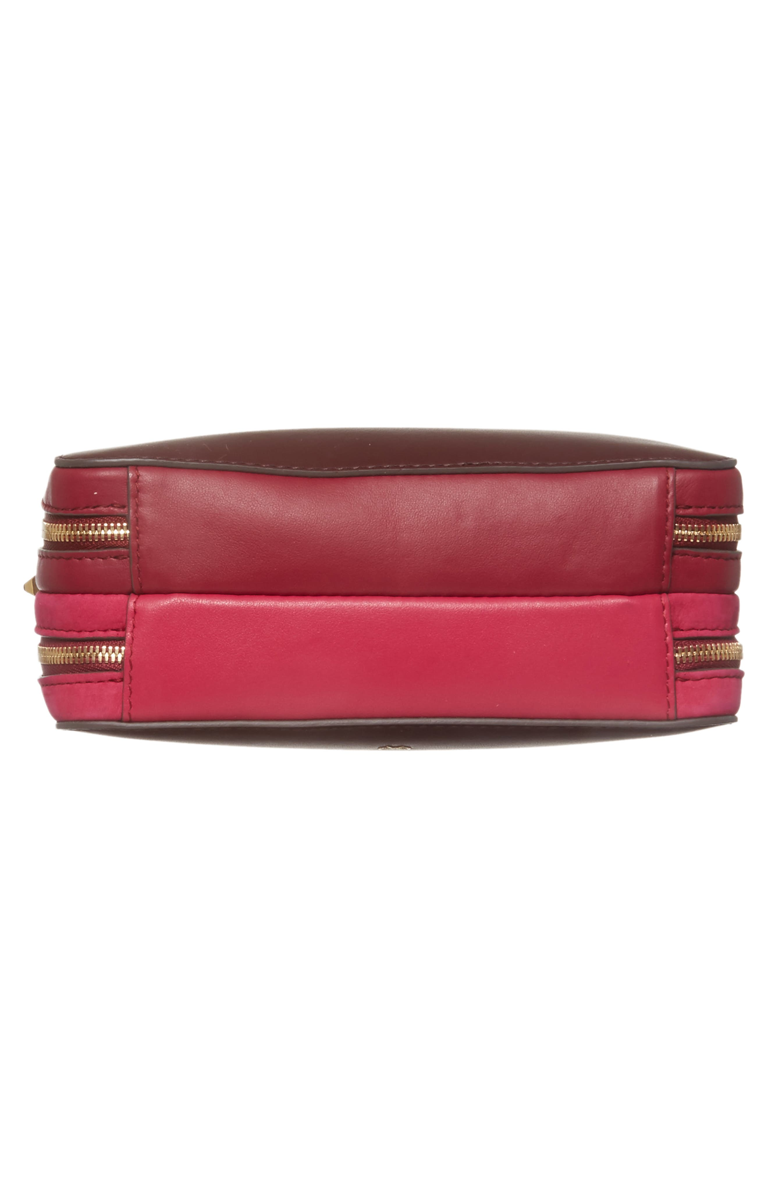 The Stack Leather Crossbody Bag,                             Alternate thumbnail 12, color,