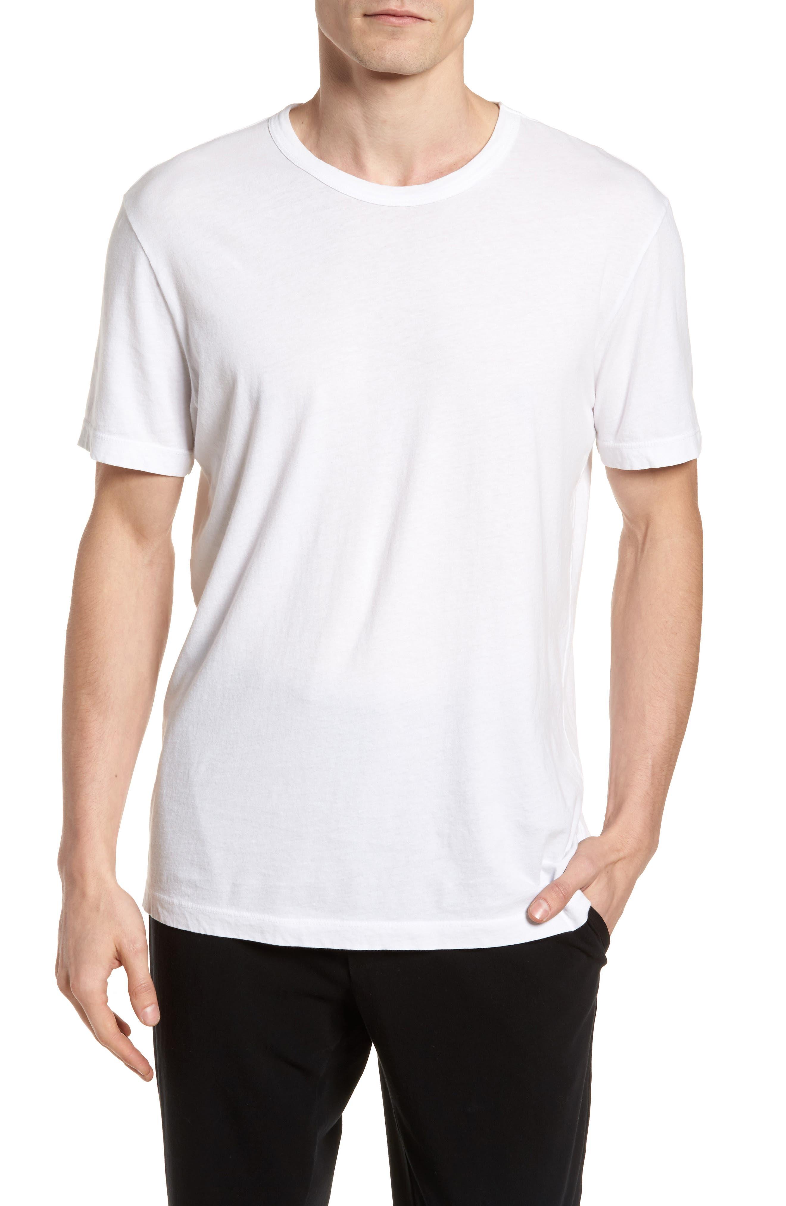 Checkerboard Crewneck T-Shirt,                             Main thumbnail 2, color,