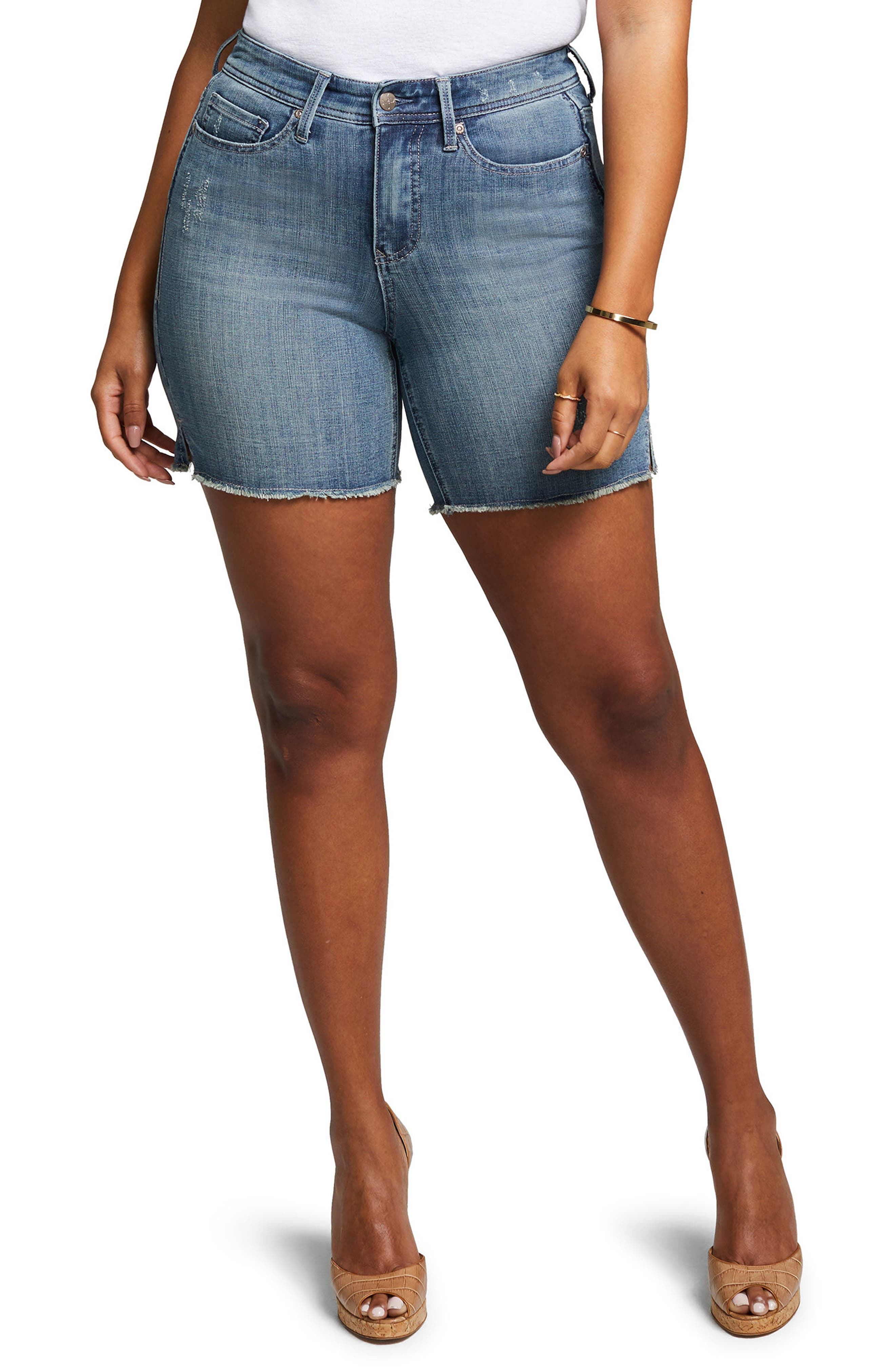Shape Slim Straight Shorts,                             Main thumbnail 2, color,