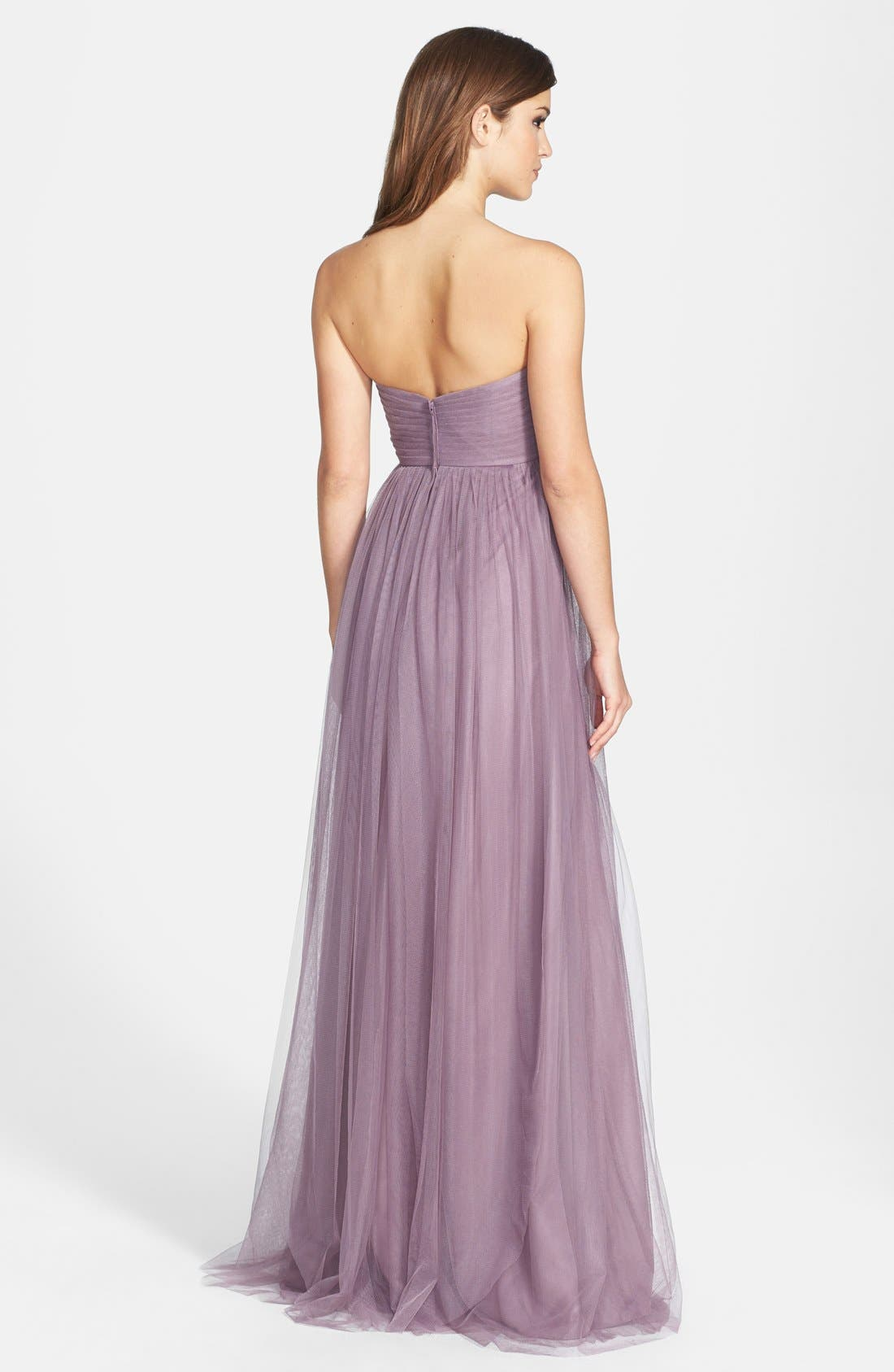 Annabelle Convertible Tulle Column Dress,                             Alternate thumbnail 174, color,