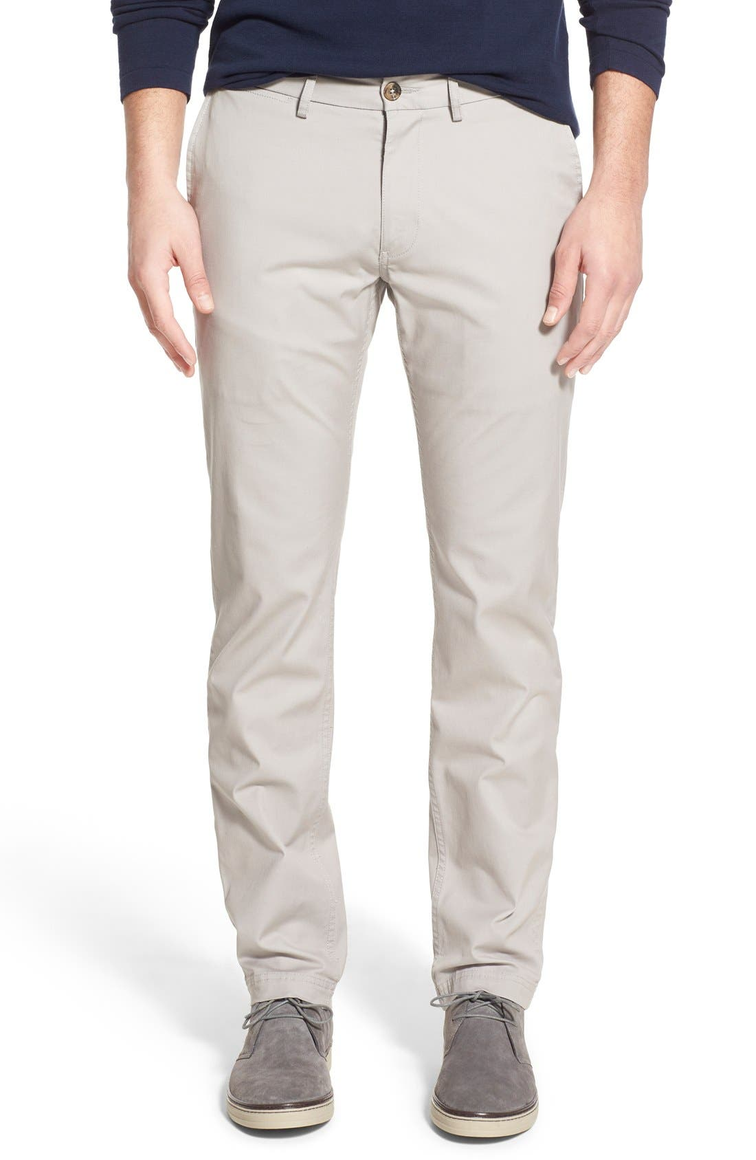 Slim Fit Stretch Chinos,                             Main thumbnail 4, color,