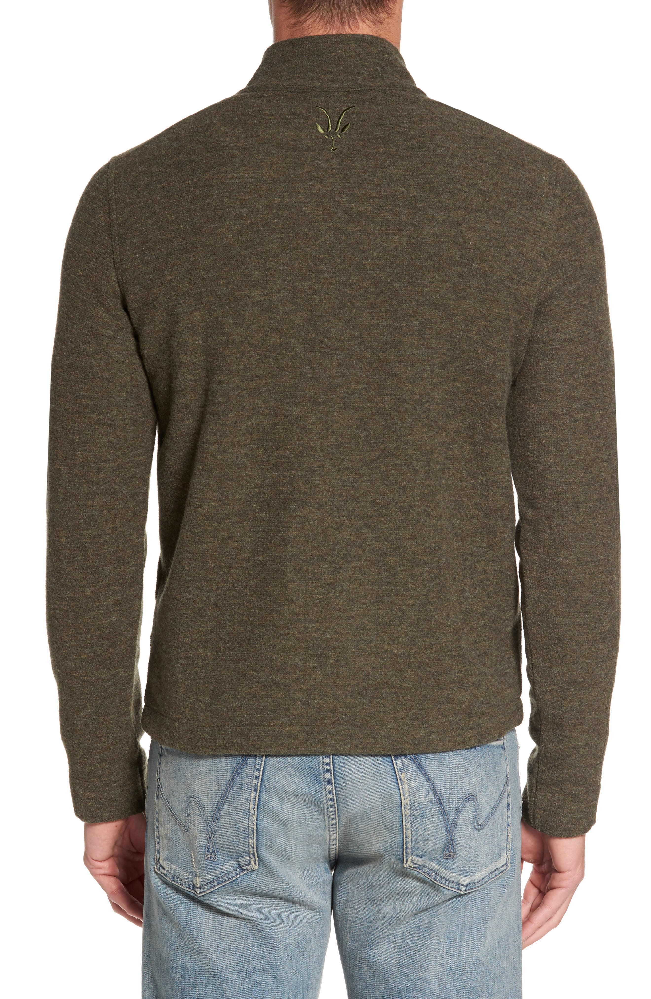Scout Jura Merino Wool Blend Quarter Zip Pullover,                             Alternate thumbnail 8, color,