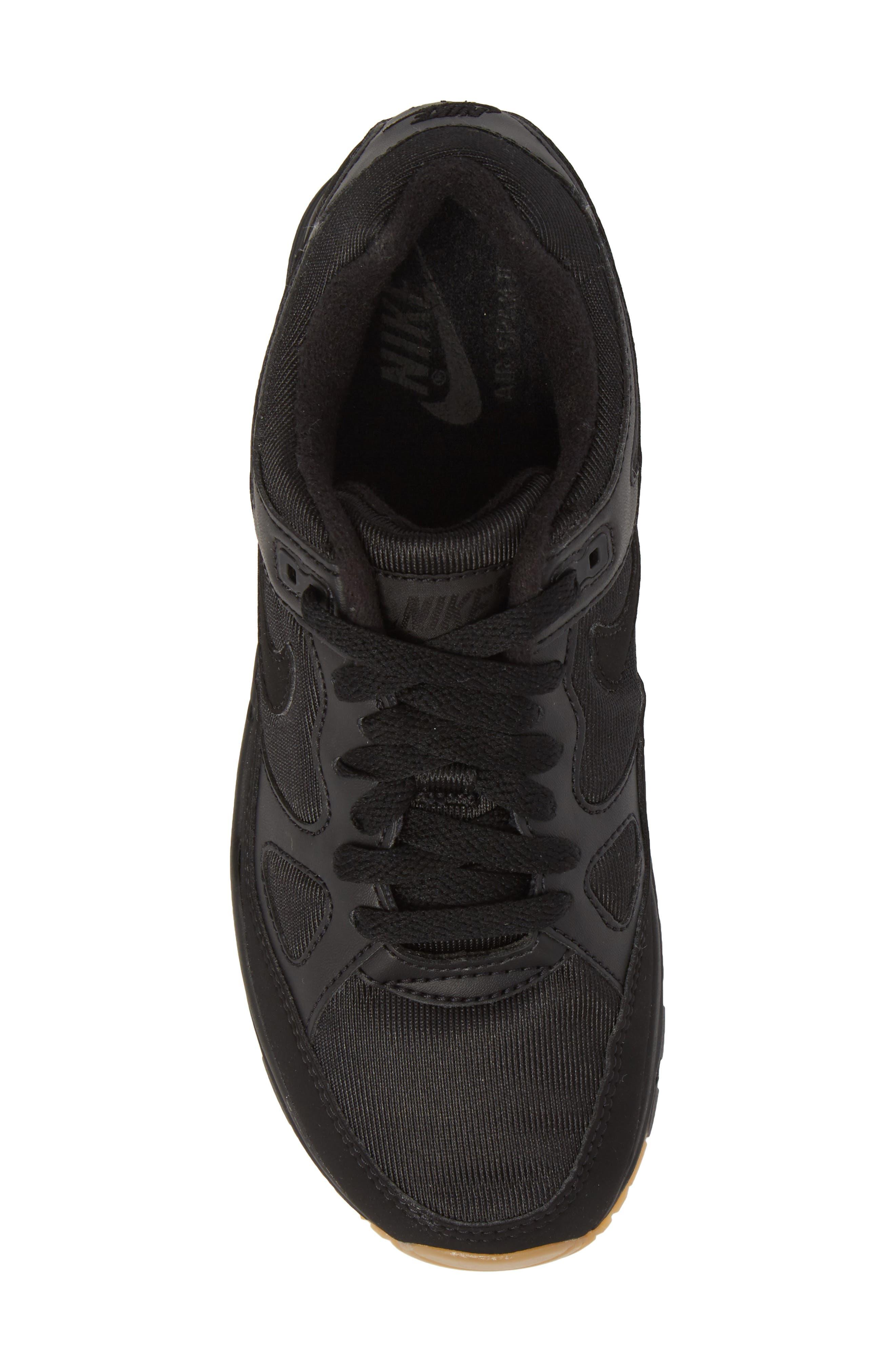 Air Span II Sneaker,                             Alternate thumbnail 5, color,                             BLACK/ BLACK/ BLACK