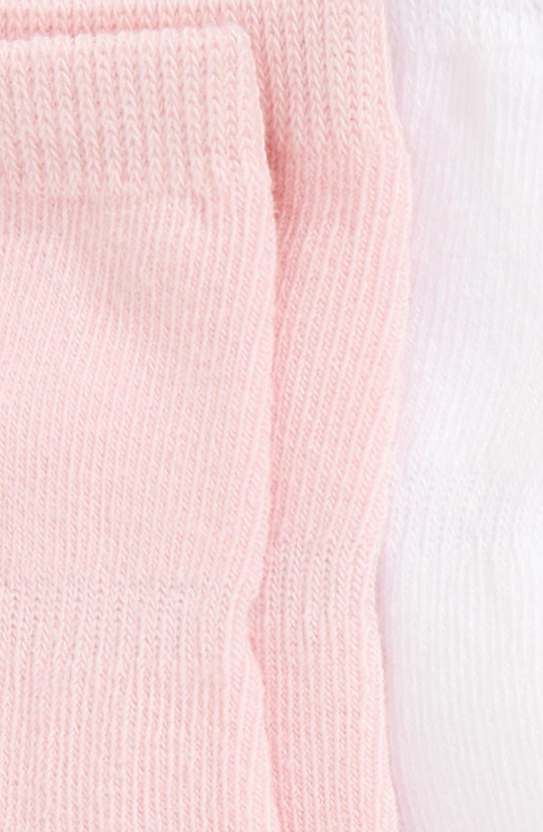 6-Pack Ankle Socks,                             Alternate thumbnail 2, color,                             PINK