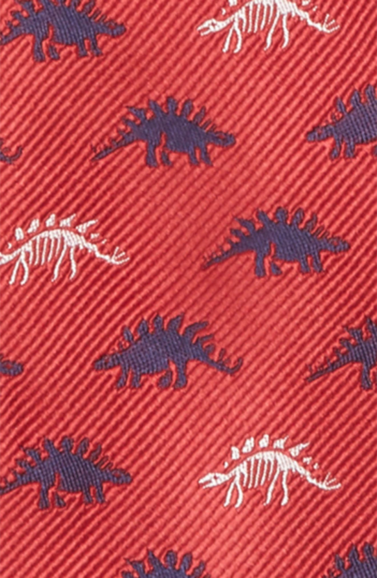 Print Silk Zip Tie,                             Alternate thumbnail 2, color,                             600